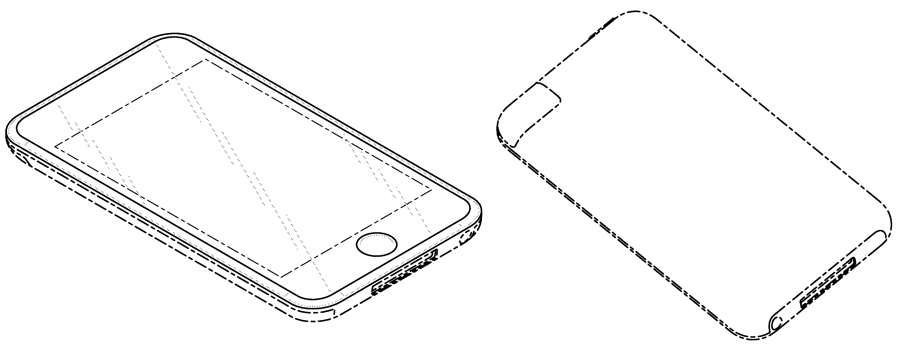 Apple  patent by Steve Jobs from 2009 for electronic device - USD604297