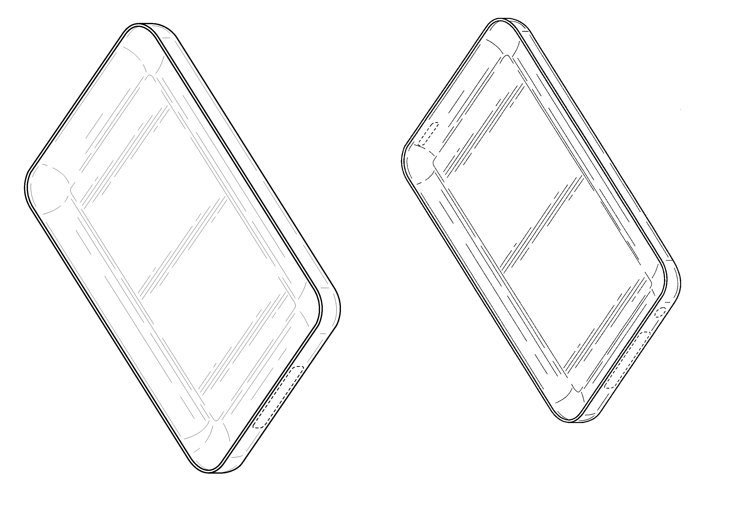 Apple  patent by Steve Jobs from 2010 for cover - USD619361