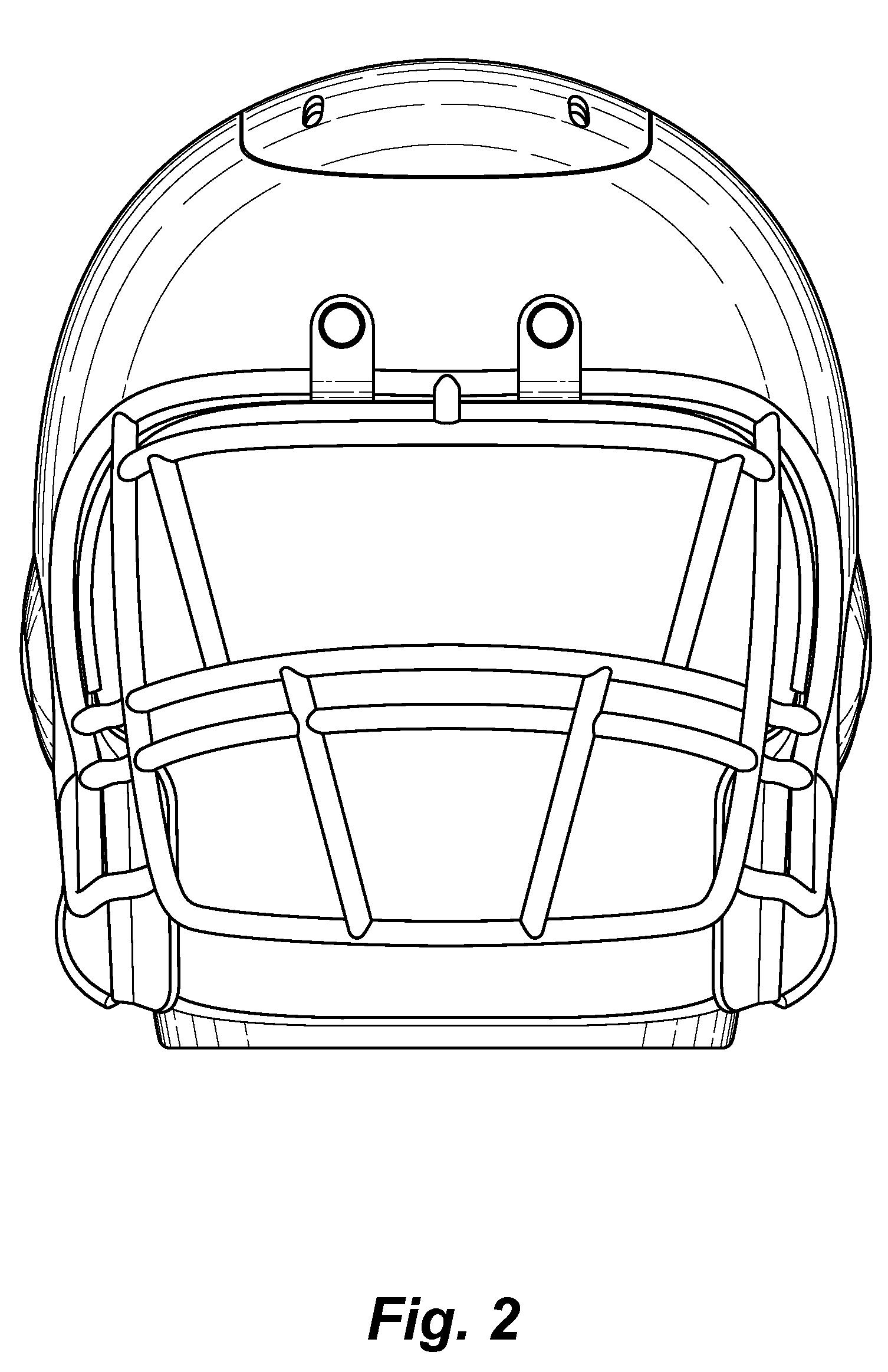 Football Helmet Front View : Patent usd football helmet coffee maker google
