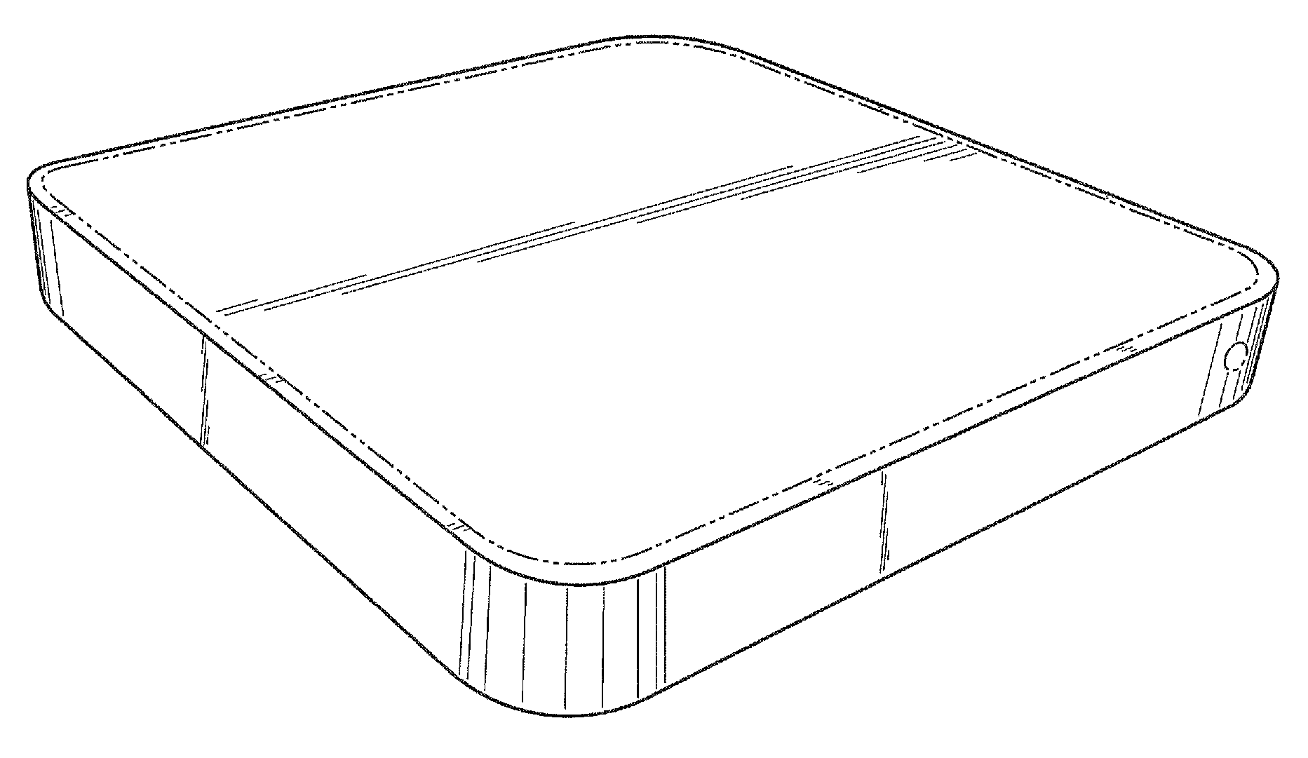 Apple  patent by Steve Jobs from 2010 for media device - USD620953