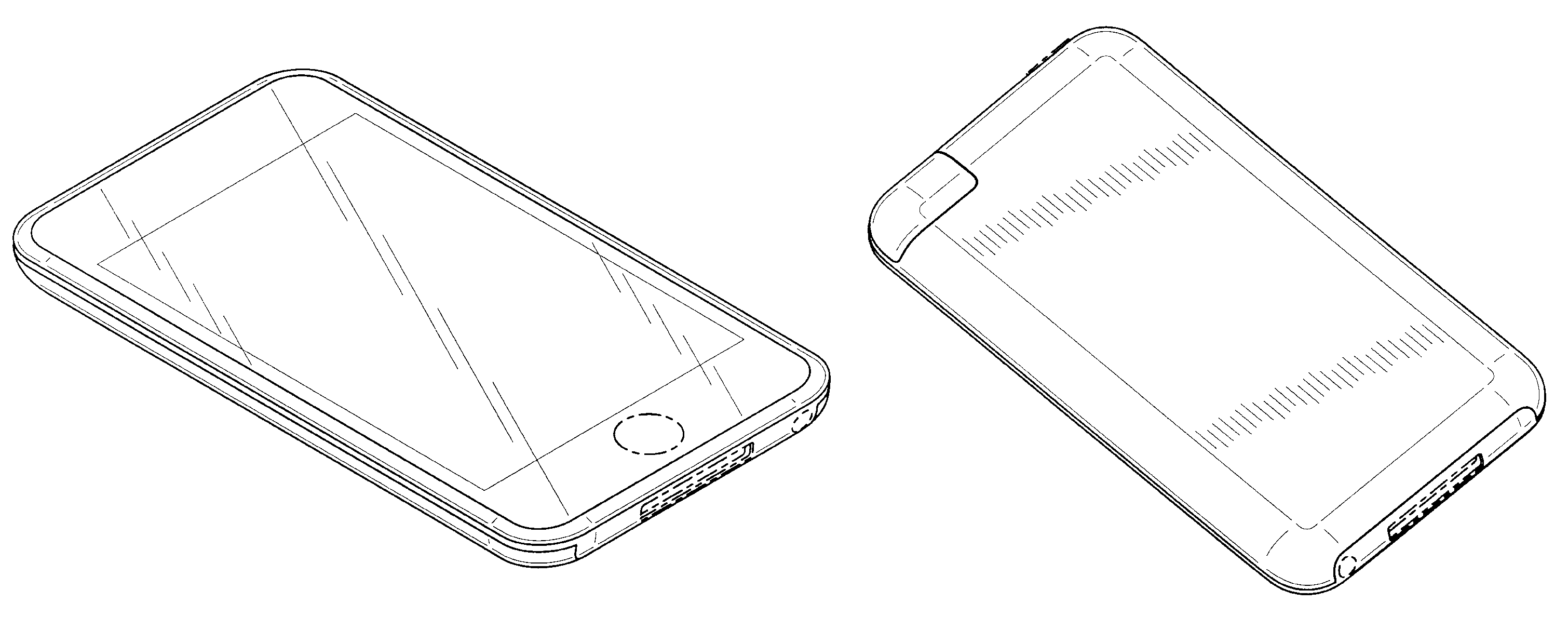 Apple  patent by Steve Jobs from 2010 for electronic device - USD622270