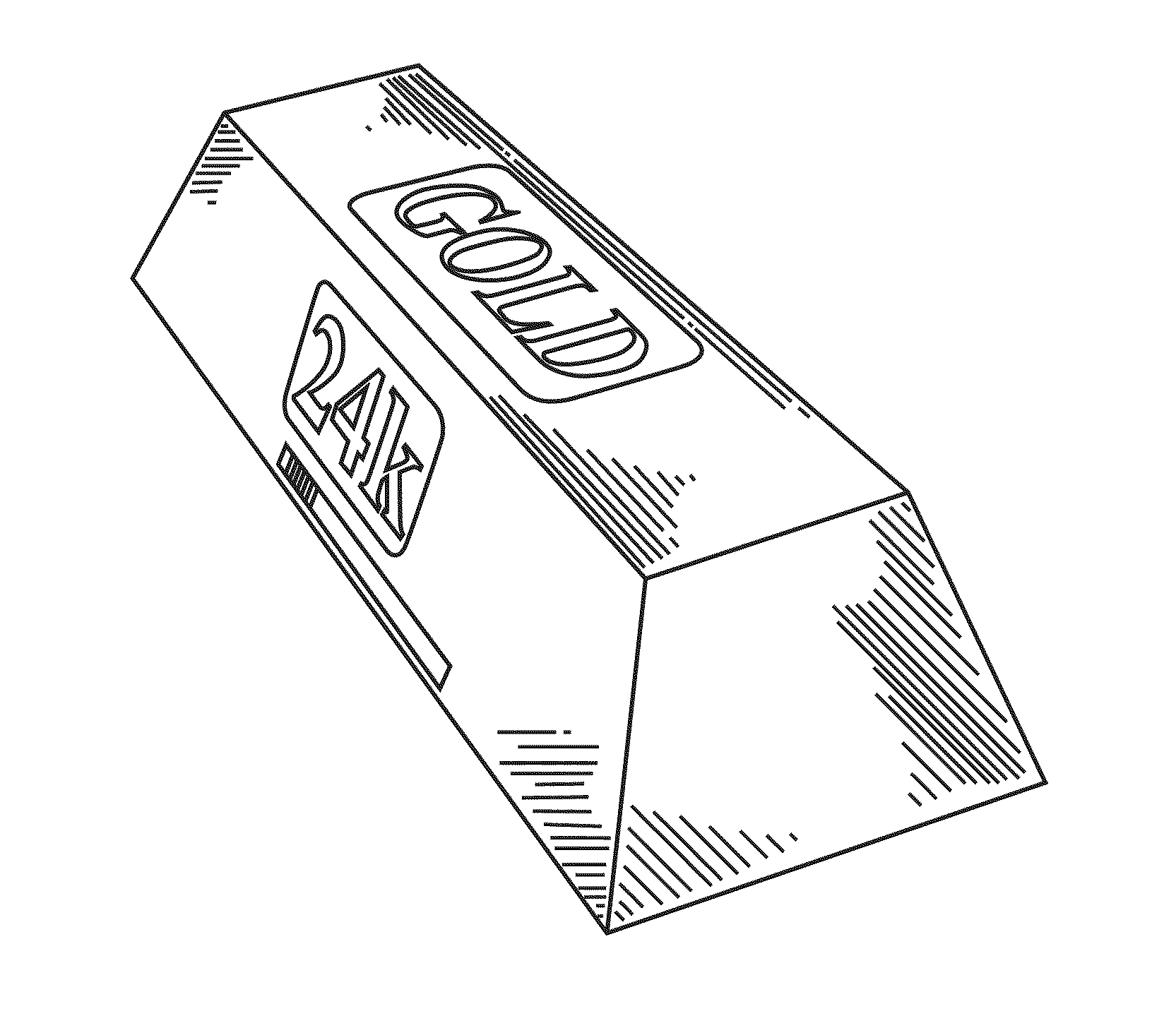 Patent USD643301 - Gold bar deodorizer container - Google ...