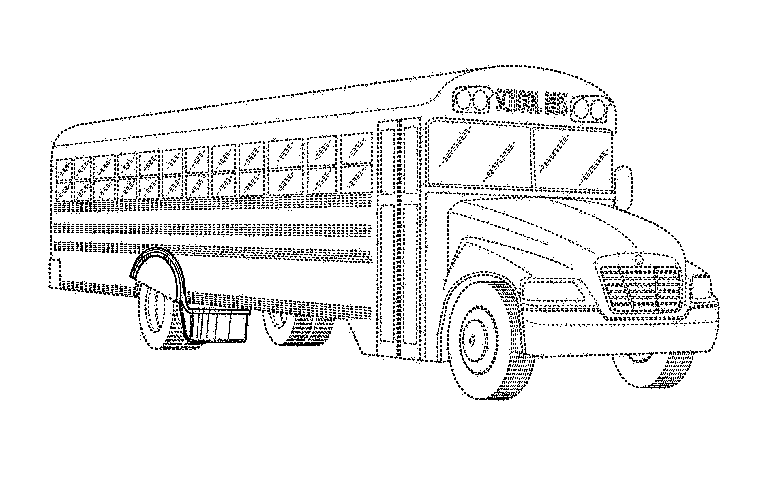 Patent USD657724 - Wheel well mounted safety guard ...