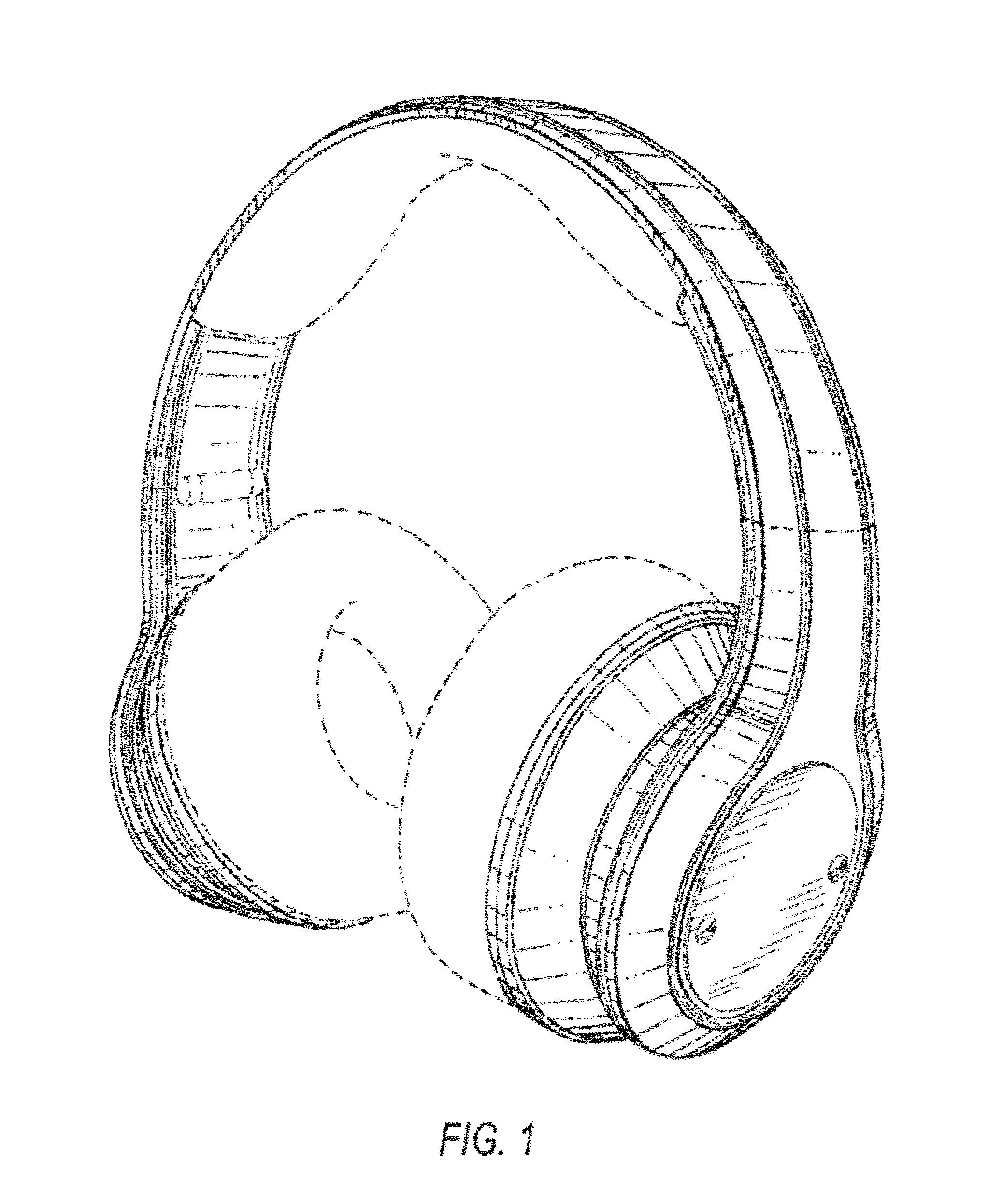 patent usd663716 - headphones