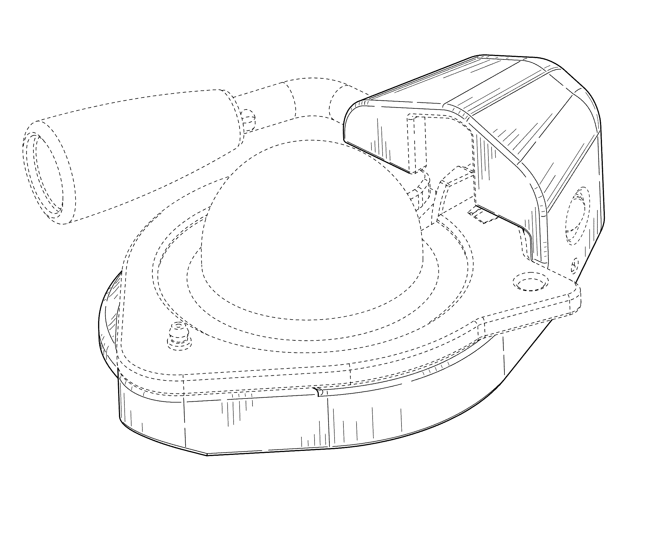 patent usd686953 gooseneck coupler head patents Trailer Coupling Lock Cover patent drawing