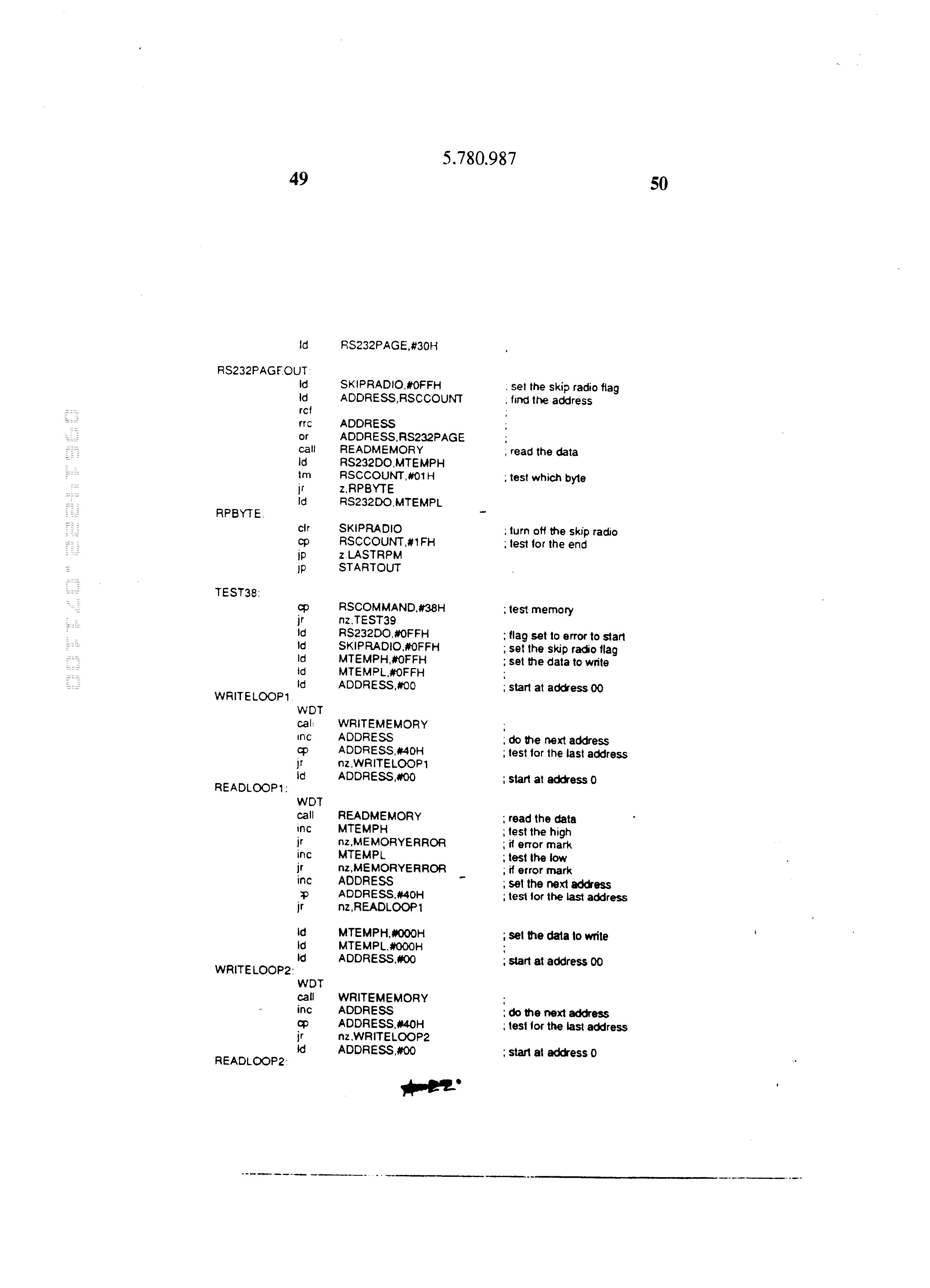 Figure USRE037784-20020709-P00022