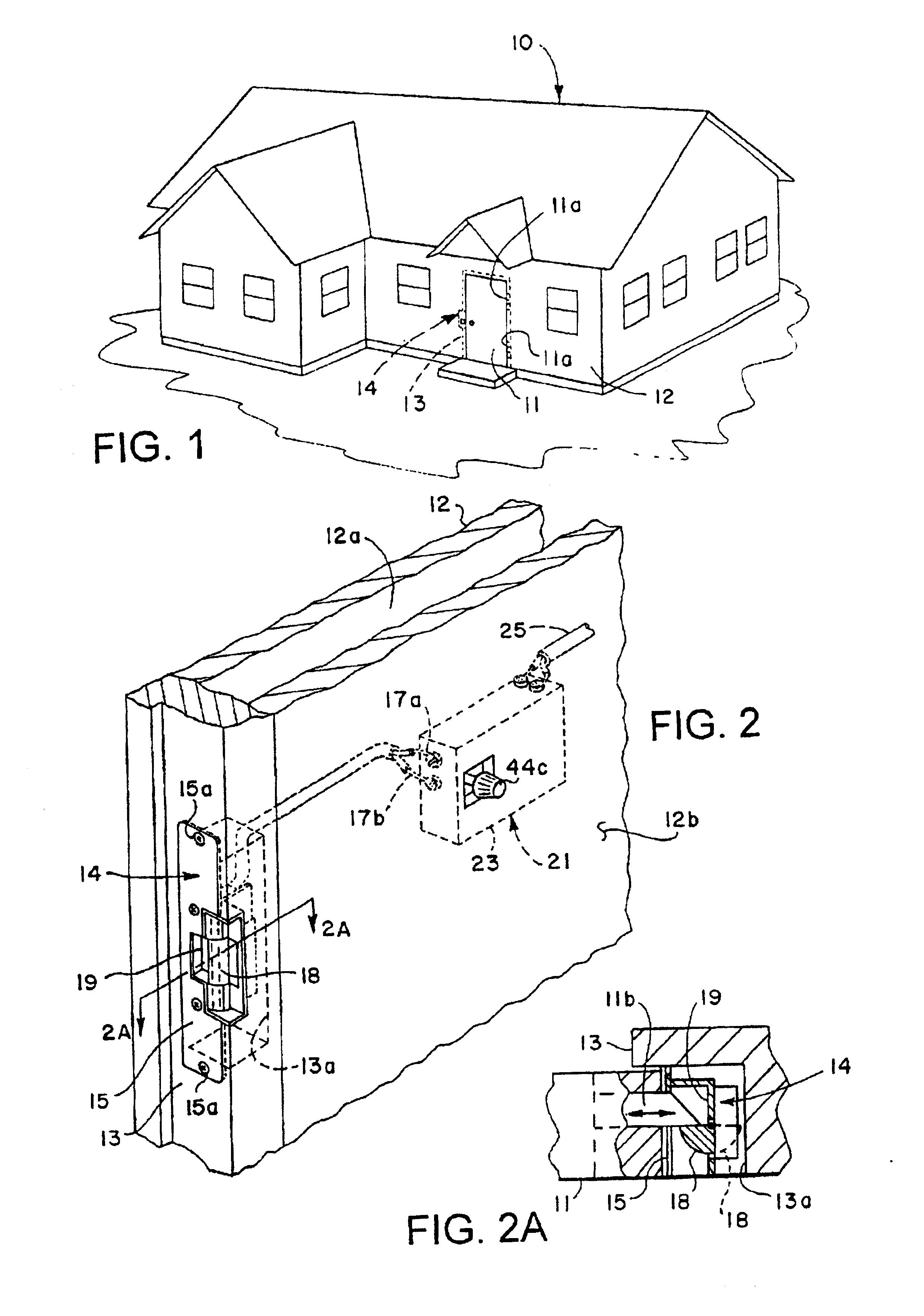 patent usre39144 - remote control door lock system