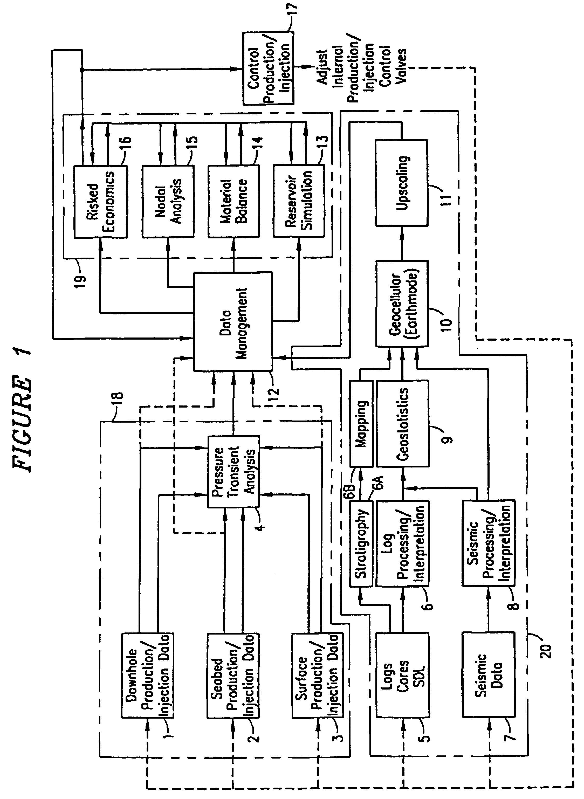Patent usre42245 system and method for real time reservoir patent drawing ccuart Images