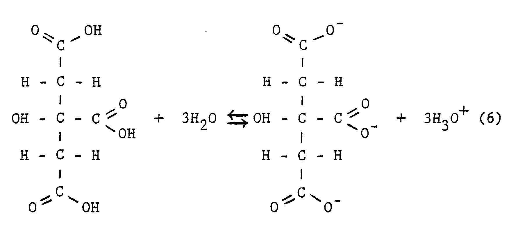 Citric Acid Equation With Water Tessshebaylo