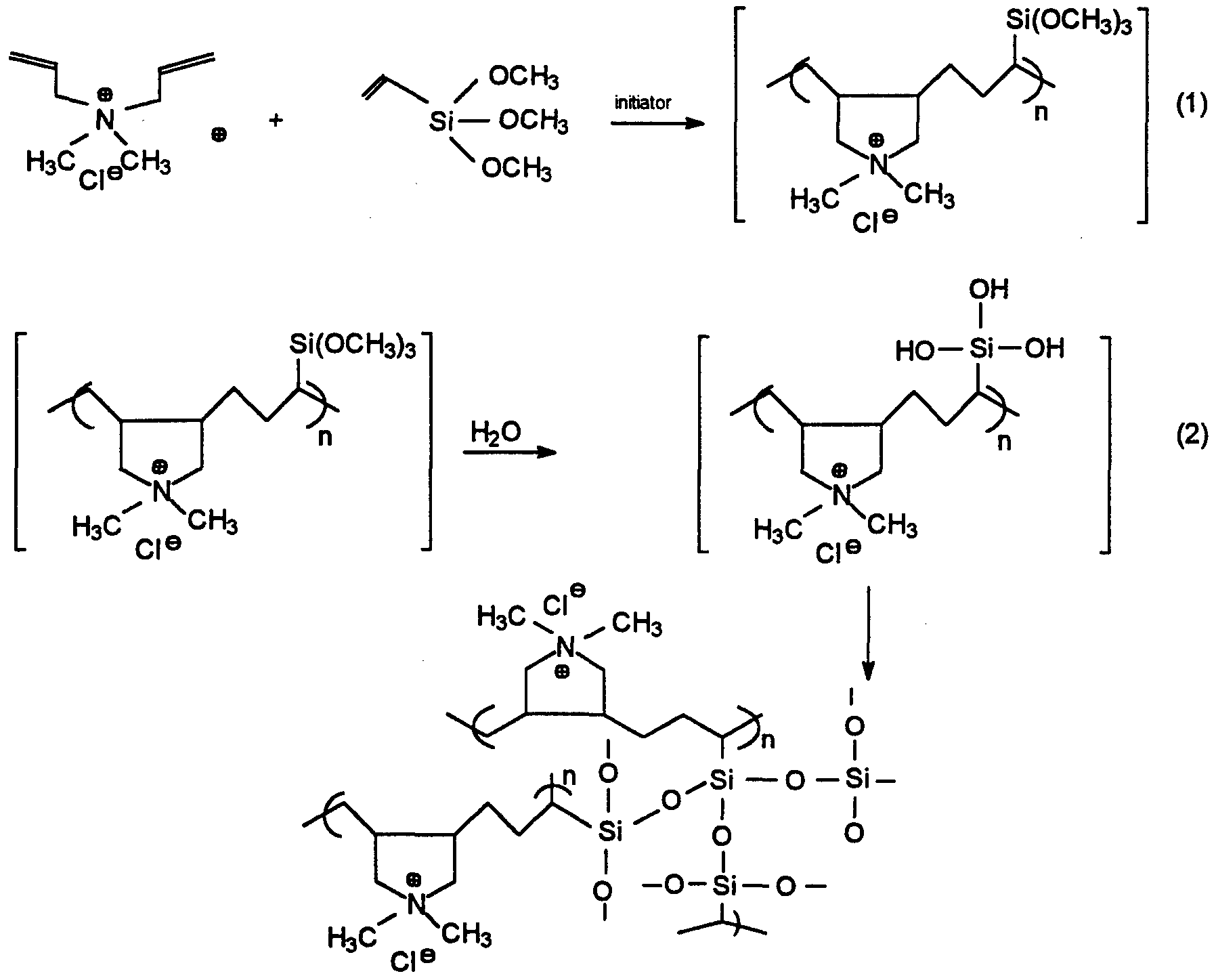 Patent Wo1996035731a1 Dadmac Vinyl Trialkoxysilane