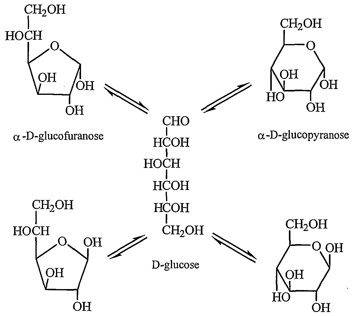 L Glucofuranose   -D-glucofuranose  -D-
