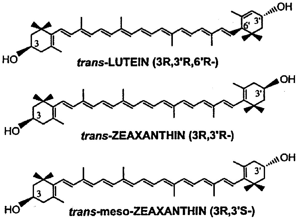 Patent EP2473065A1 - A xanthophyl composition containing ...