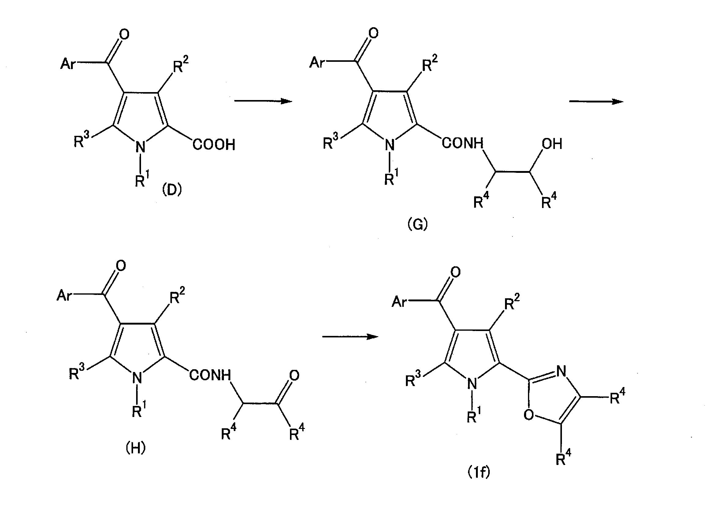 WO2013111831A1 - ピロール化合物         - Google PatentsFamily