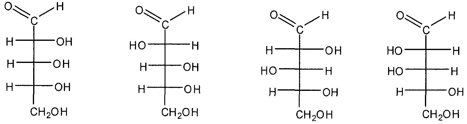 D Erythrose D-Ribose D-Arabinose D-Xylose