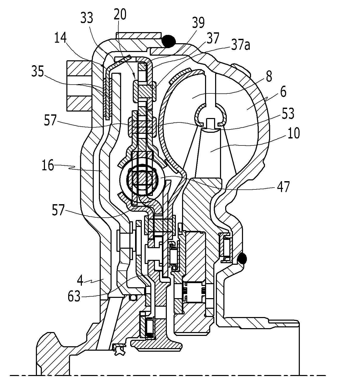 Patent WO2014092268A1 - Convertisseur de couple pour véhicule ...