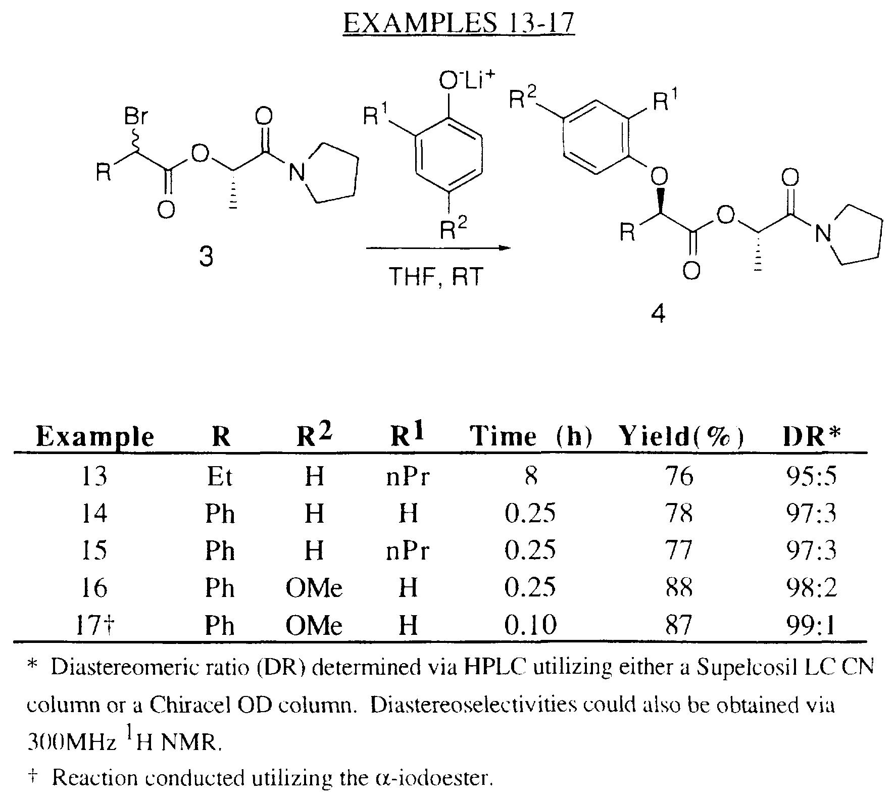 WO1997021693A1 - Stereoselective process - Google Patents