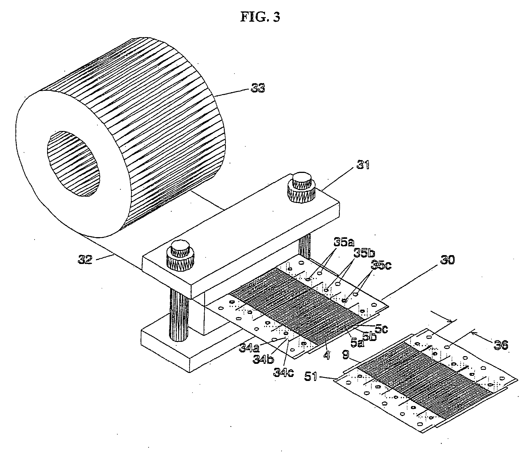Eyelet Forming Setting Tool For Circuit Boards