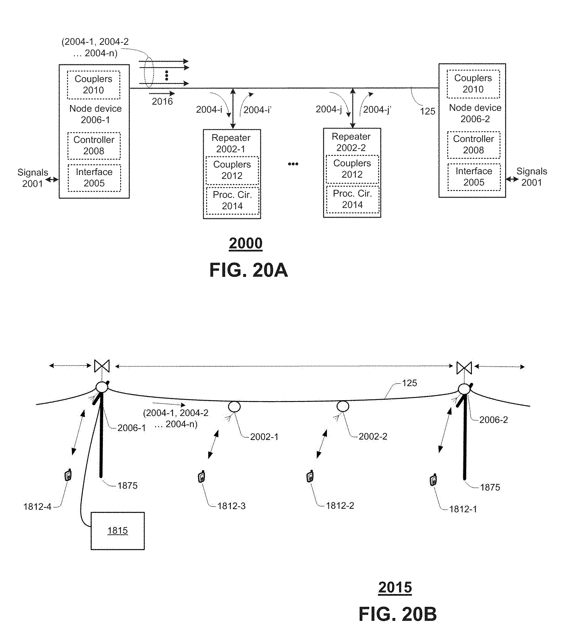 Us9749053b2 Node Device Repeater And Methods For Use Therewith Transistor Oscillator Circuit Likewise One Tube Cw Transmitter As Well Google Patents