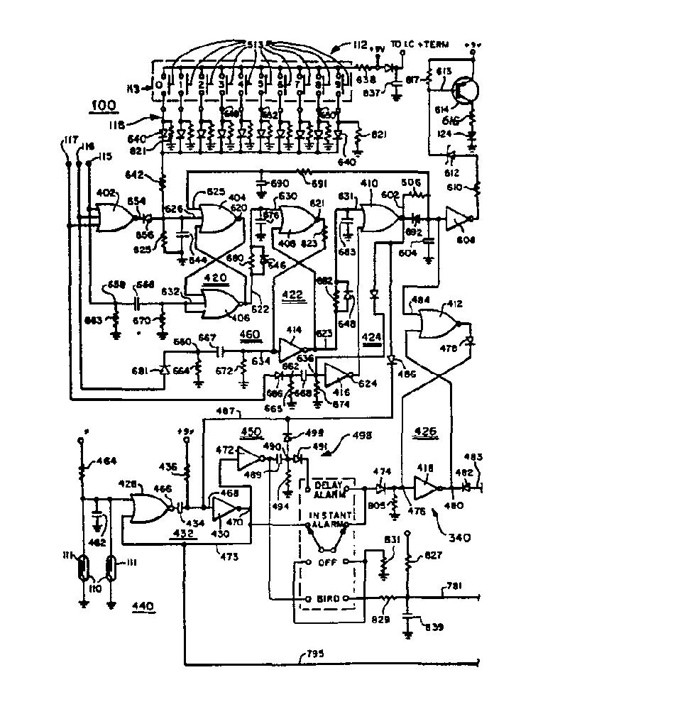 Ep0012155a1 Intruder Alarm Device Google Patents General Purpose Circuit For Resistive Sensor Figure Imga0001