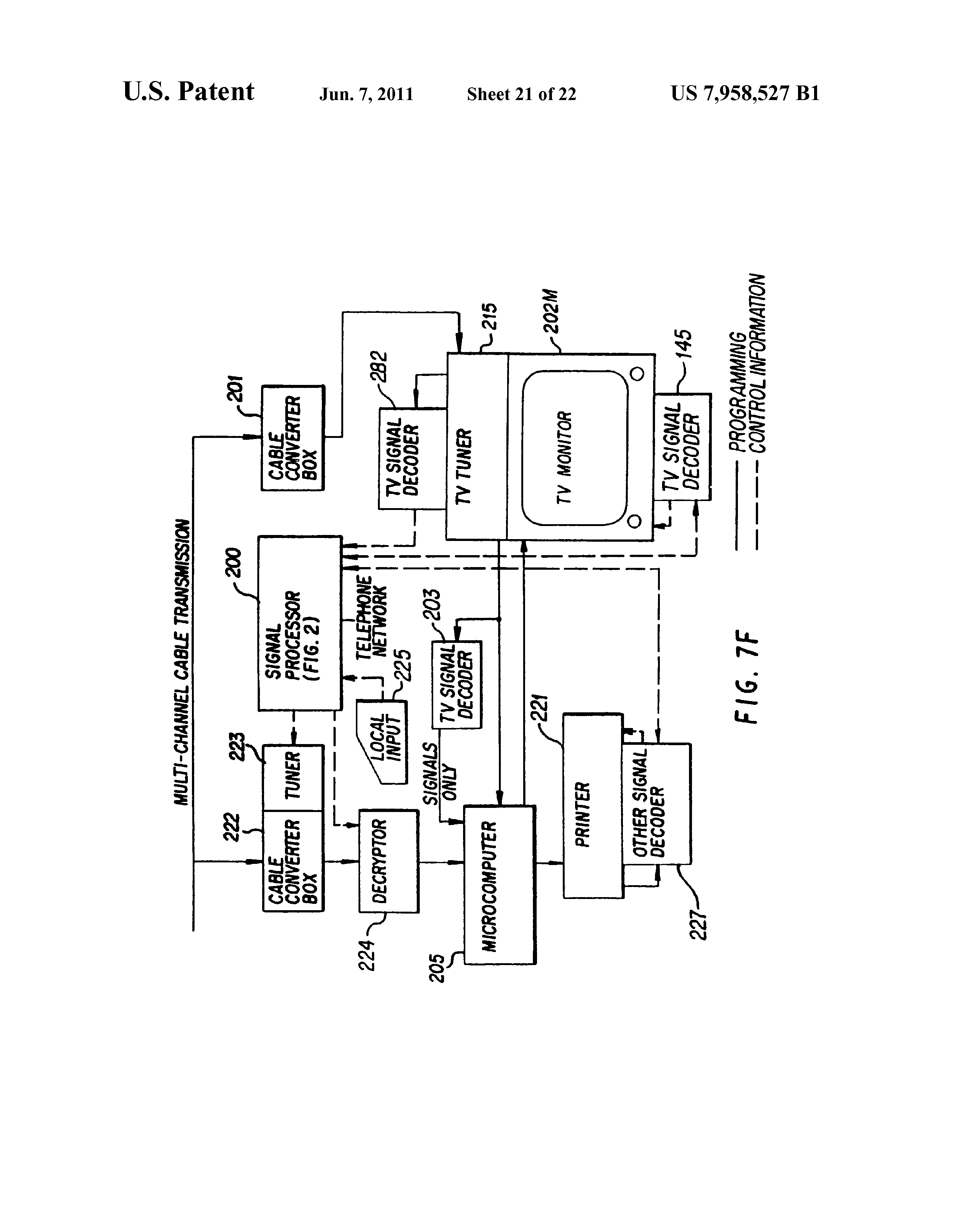 Us7958527b1 Signal Processing Apparatus And Methods Google Patents Polarity Using Reed Switches Relays Electronics Forum Circuits