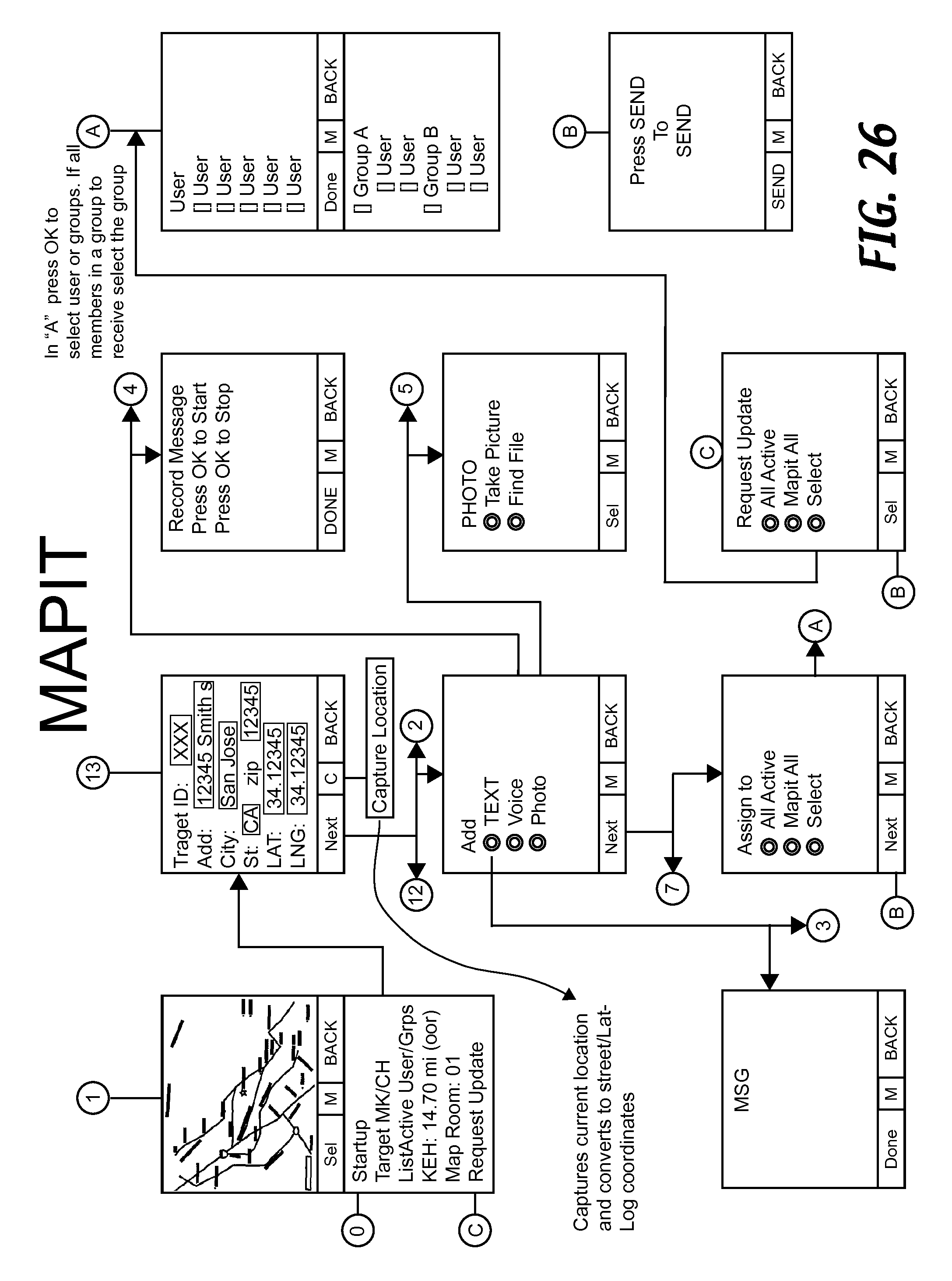 us20130144523a1 - methods and systems for sharing position data and tracing  paths between mobile-device users - google patents