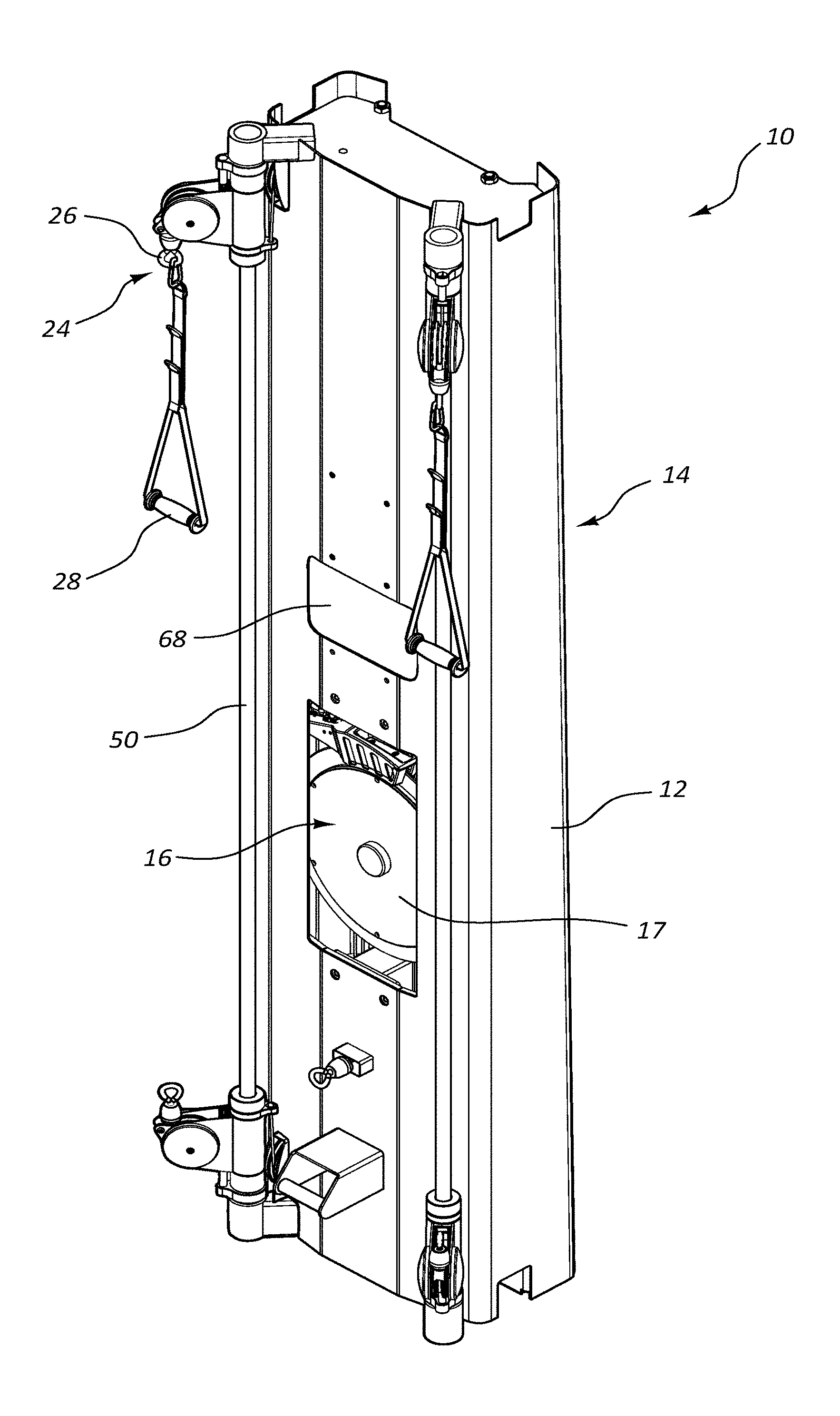 merz drum switch wiring diagram us20190151698a1 magnetic resistance mechanism in a cable machine  us20190151698a1 magnetic resistance