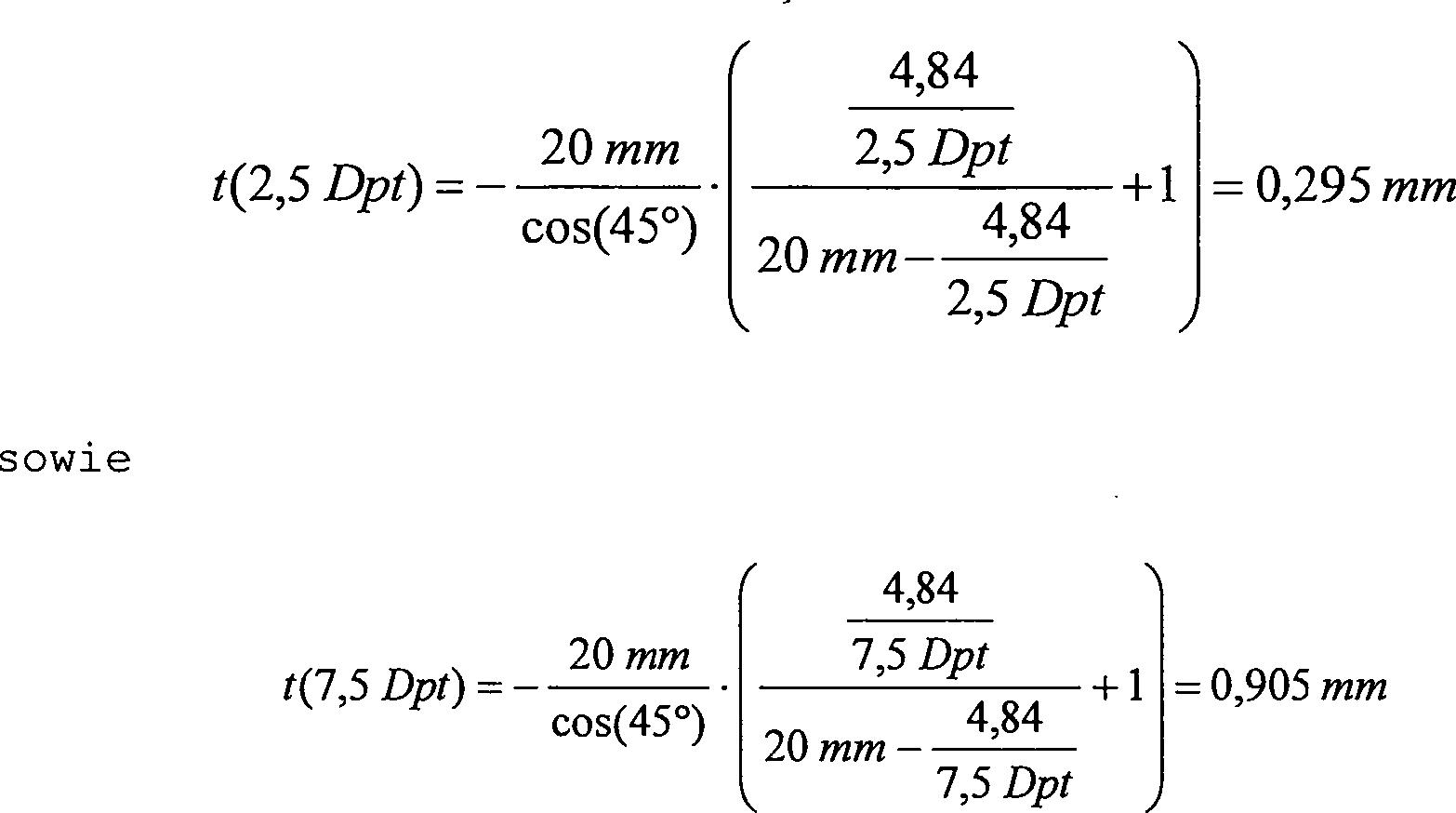 DE102013021974B3 - Apparatus for determining an ametropia of an eye