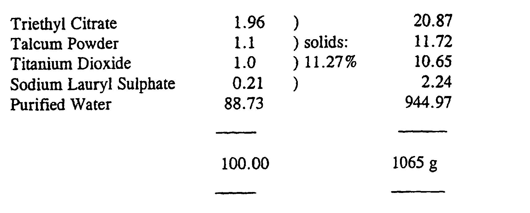 EP1128826B1 - Chromone enteric release formulation - Google