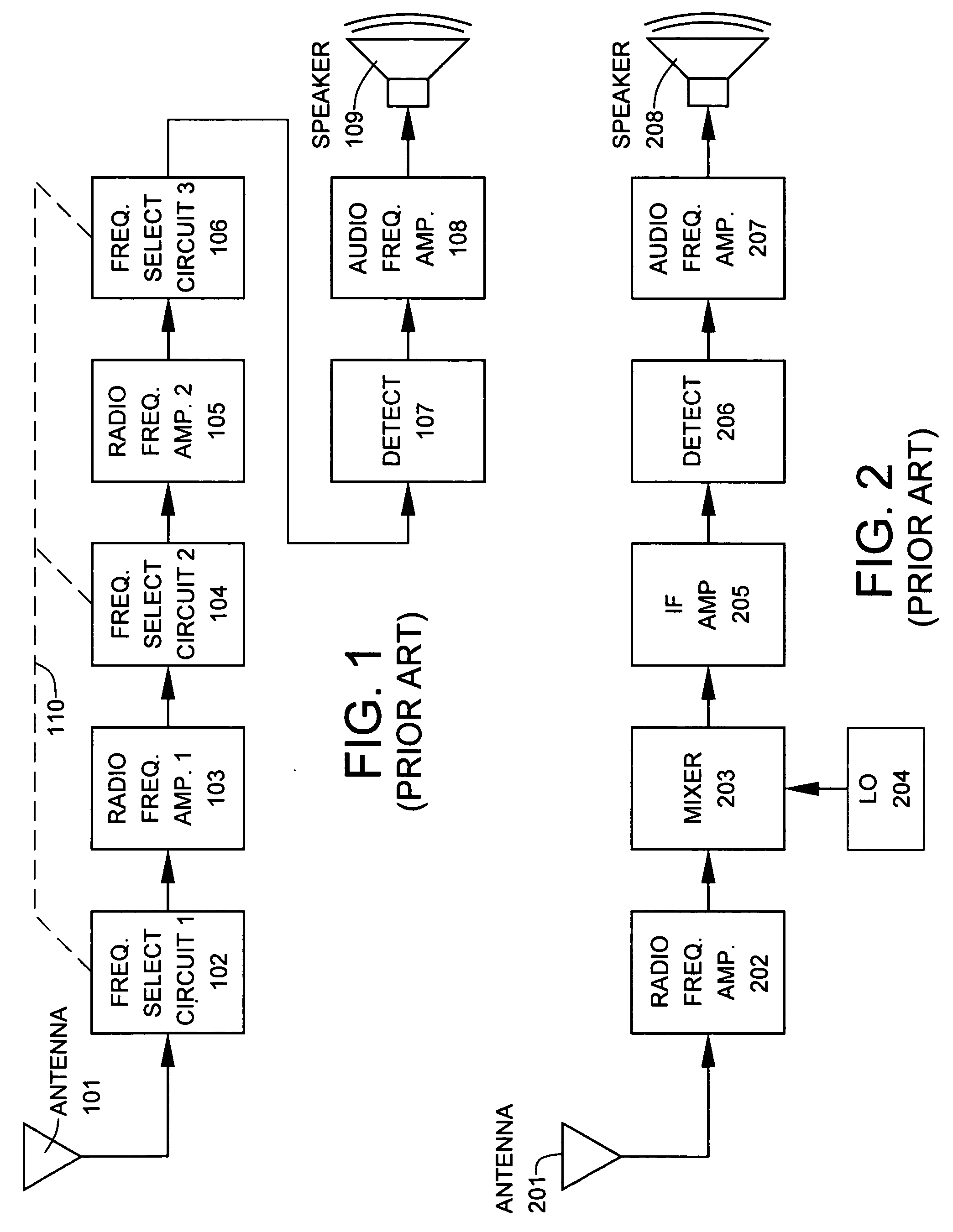 Us20070037546a1 Superheterodyne Receiver Having At Least One Tuned Radio Frequency Trf Circuit Diagram Downconversion Stage Empolying A Single Image Reject Filter And Both Low Side Injection