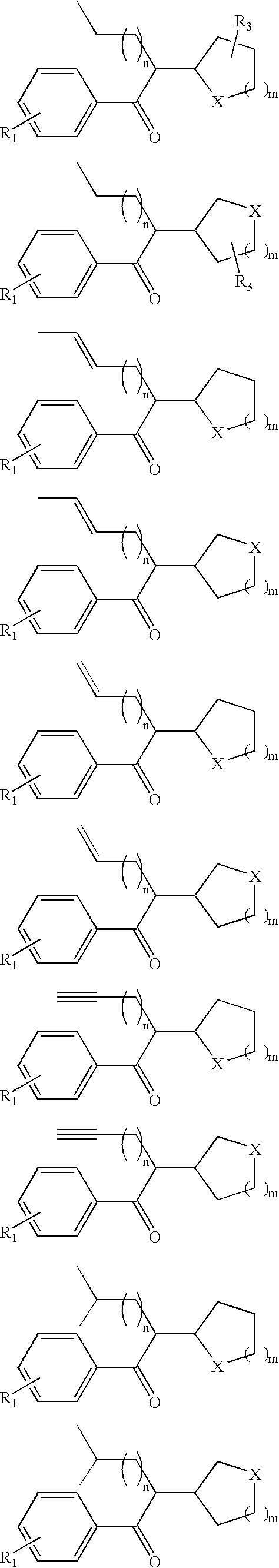 US20080234498A1 - Pyrovalerone Analogues and Therapeutic Uses
