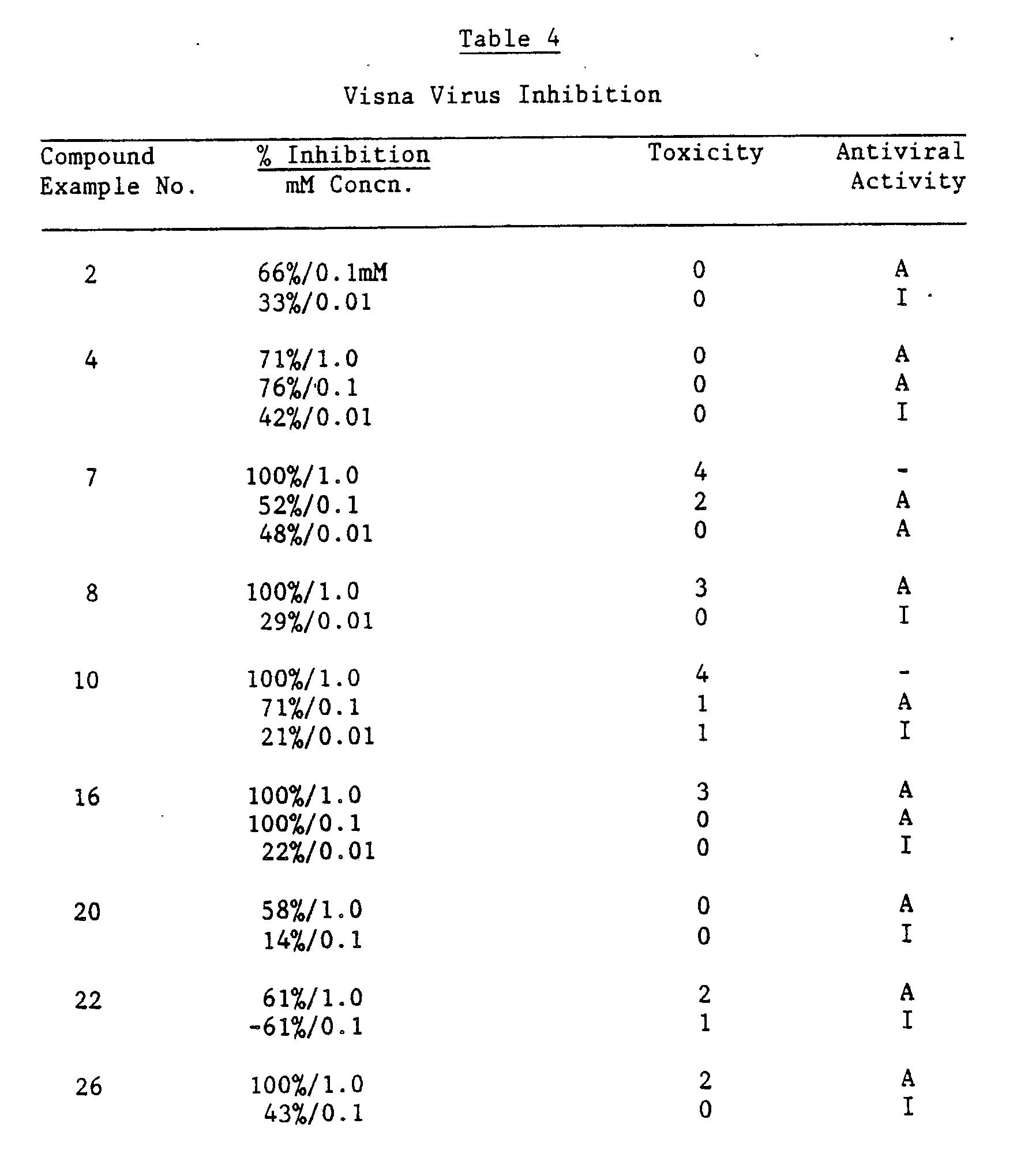 EP0367747A2 - Dideoxy-L-arabinitol derivatives as antiviral