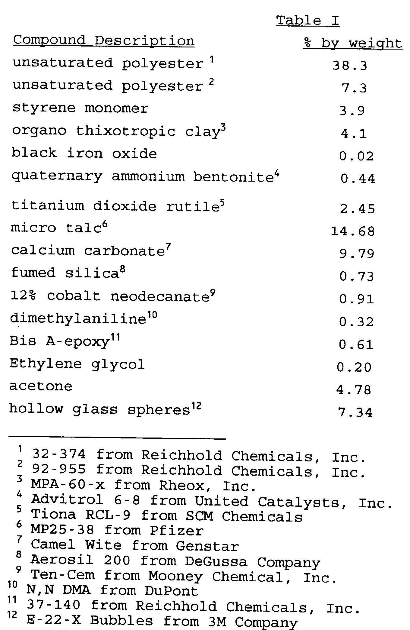 EP0626433A1 - Sprayable filler composition - Google Patents