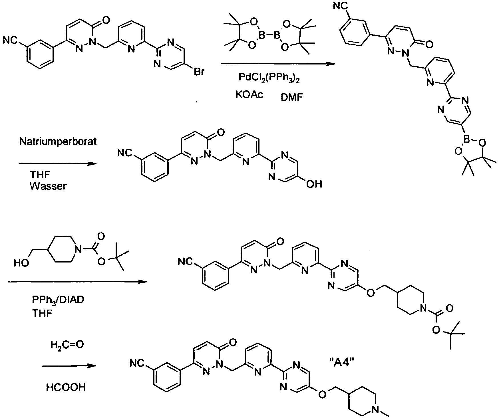 EP2280962B1 - Pyridazinone derivatives - Google Patents