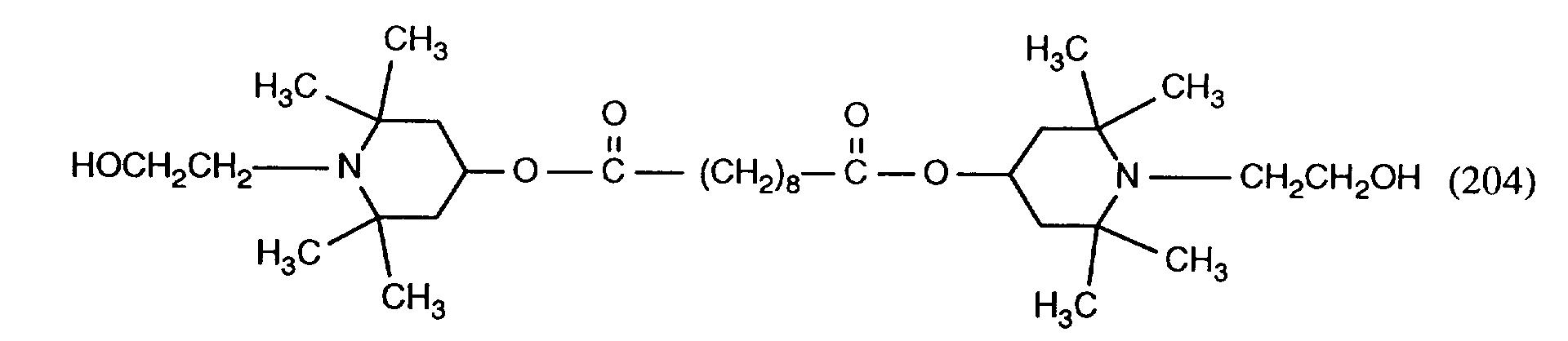 EP0707035A1 - HALS phosphorinanes as stabilisers - Google
