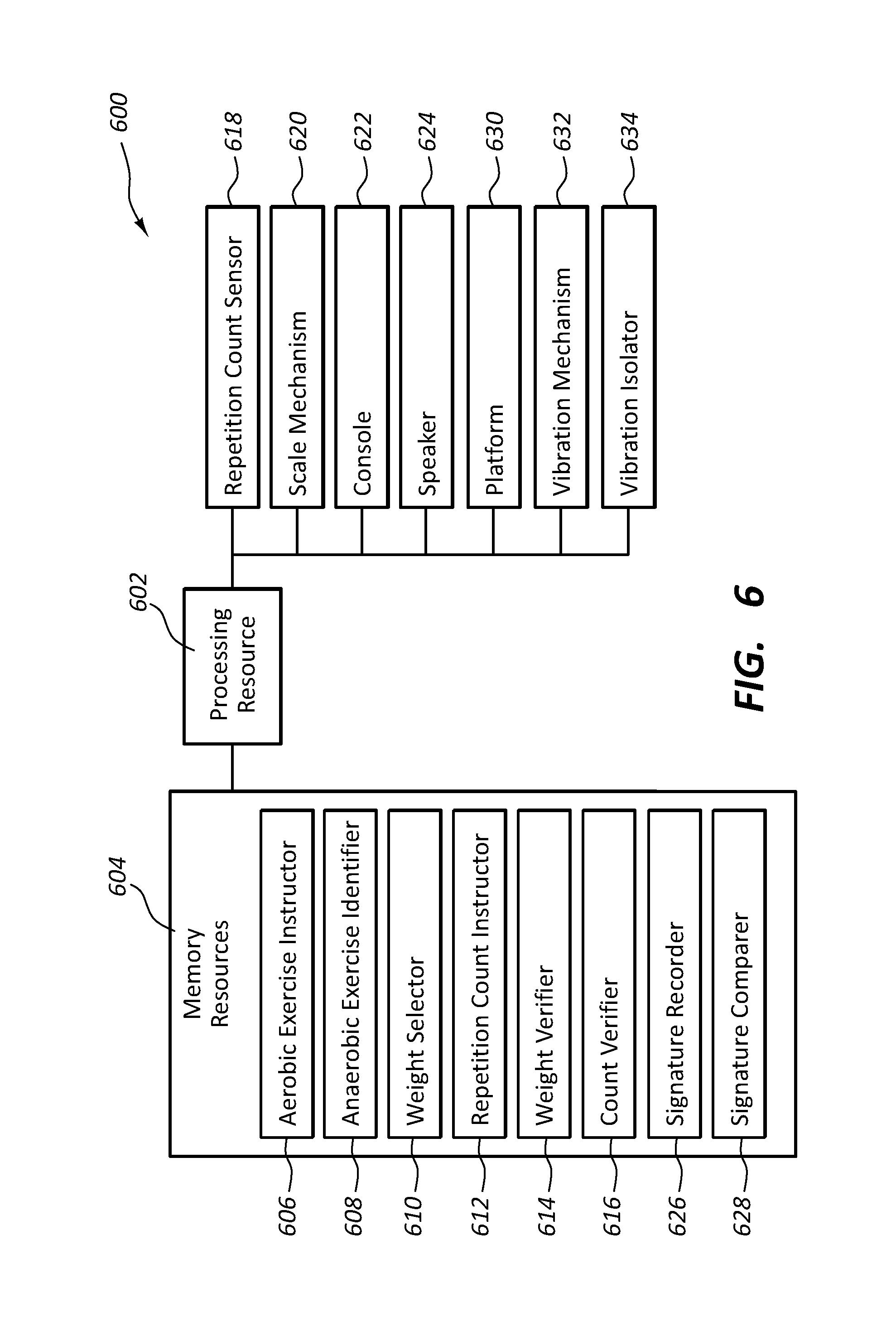 US10252109B2 - Weight platform treadmill - Google Patents
