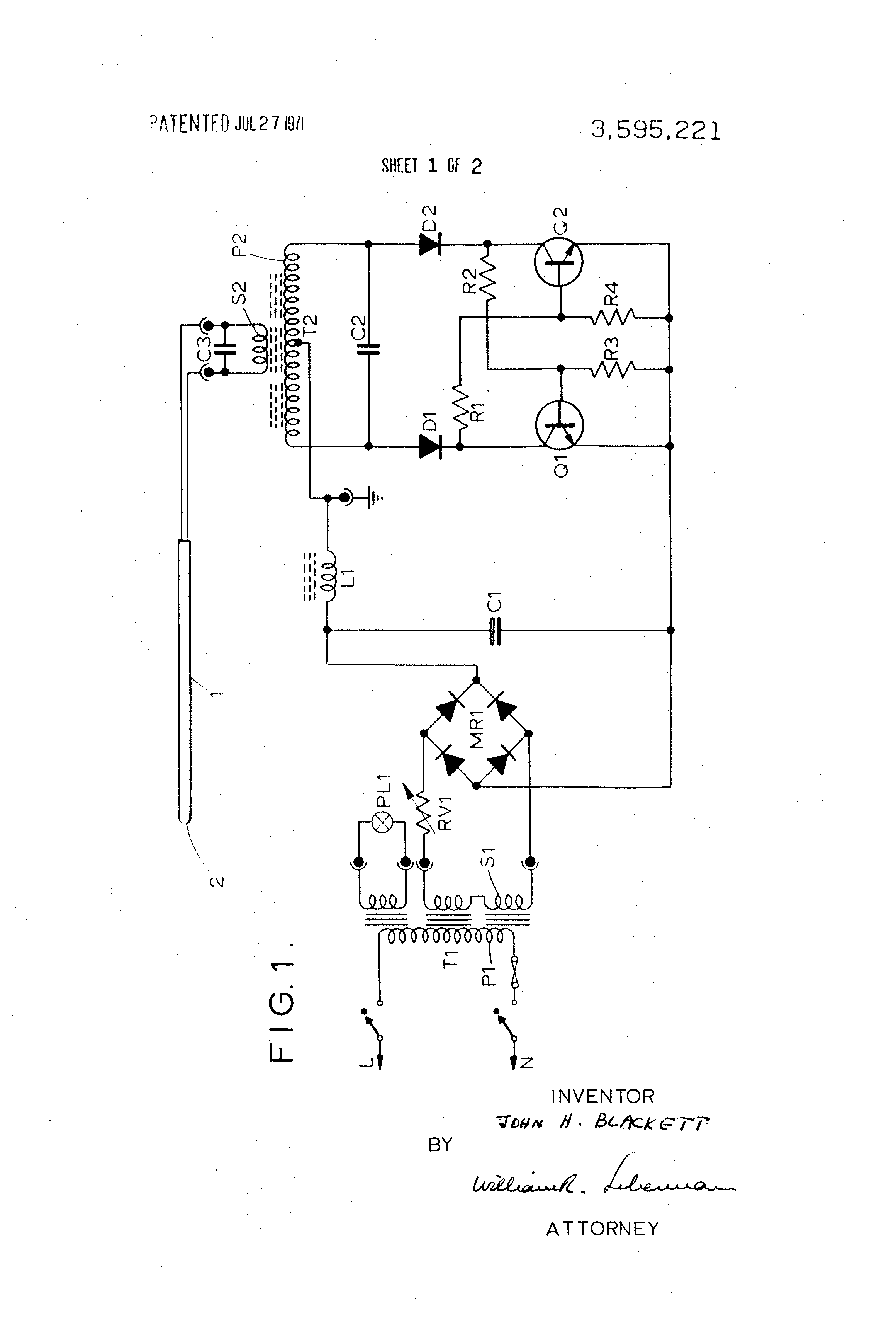 Generator Wiring Diagram L1 R1