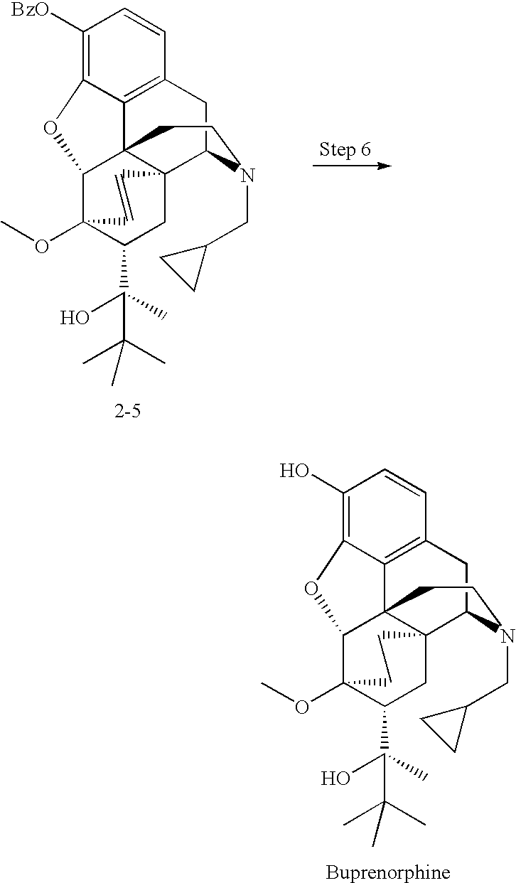 US20080125592A1 - Process for preparing oxymorphone, naltrexone, and