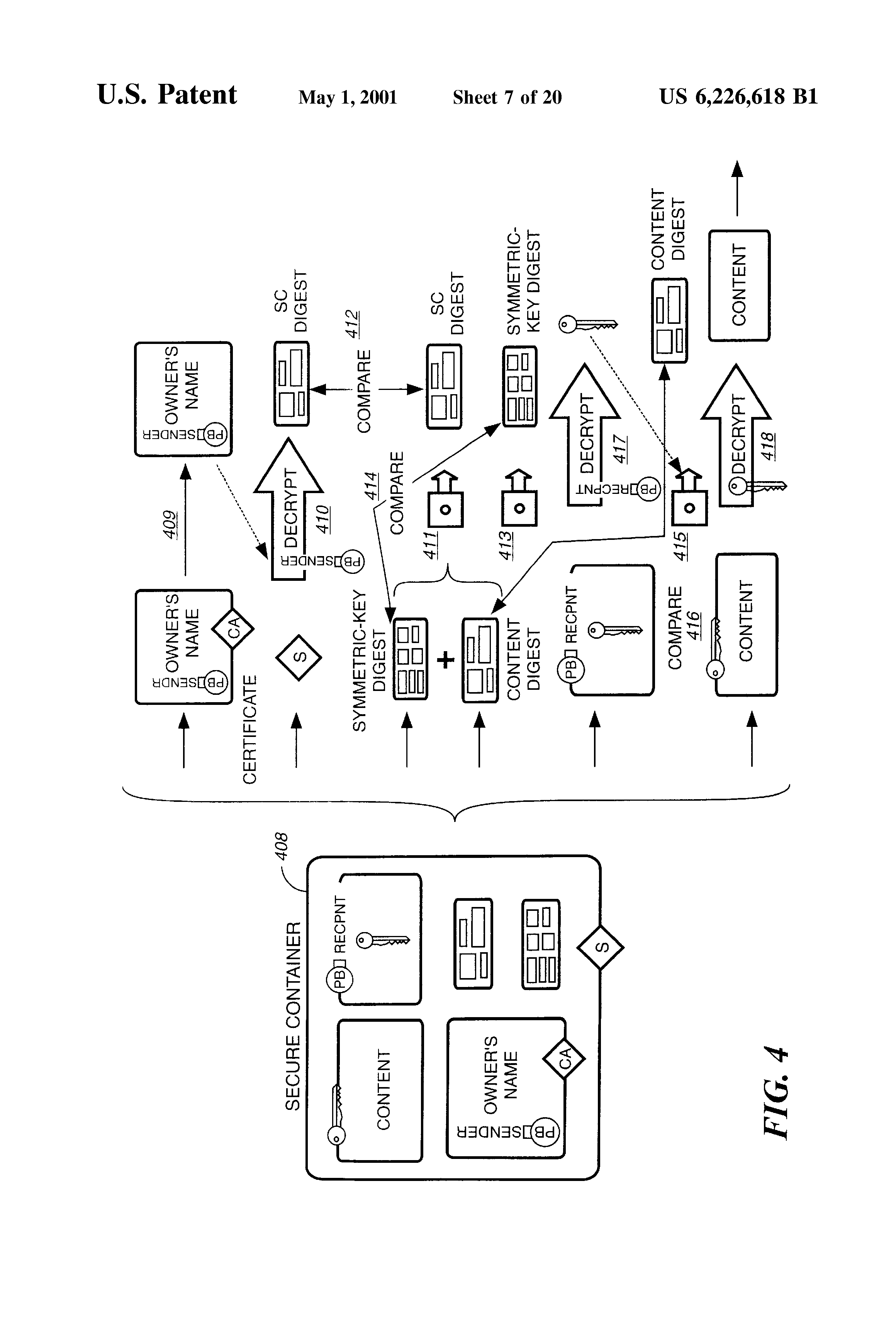 US6226618B1 - Electronic content delivery system - Google