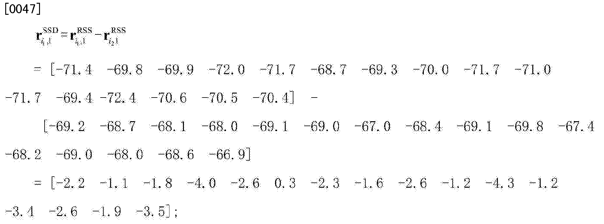 Figure CN103744053BD00072