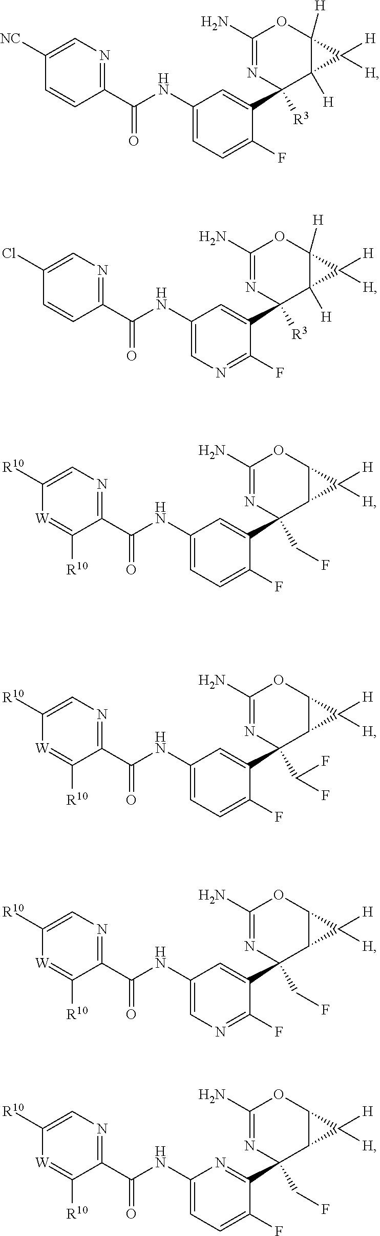 Us9611261b2 Perfluorinated Cyclopropyl Fused 13 Oxazin 2 Amine Hf Data Diagrams O Meta Dibromobenzene Figure Us09611261 20170404 C00044