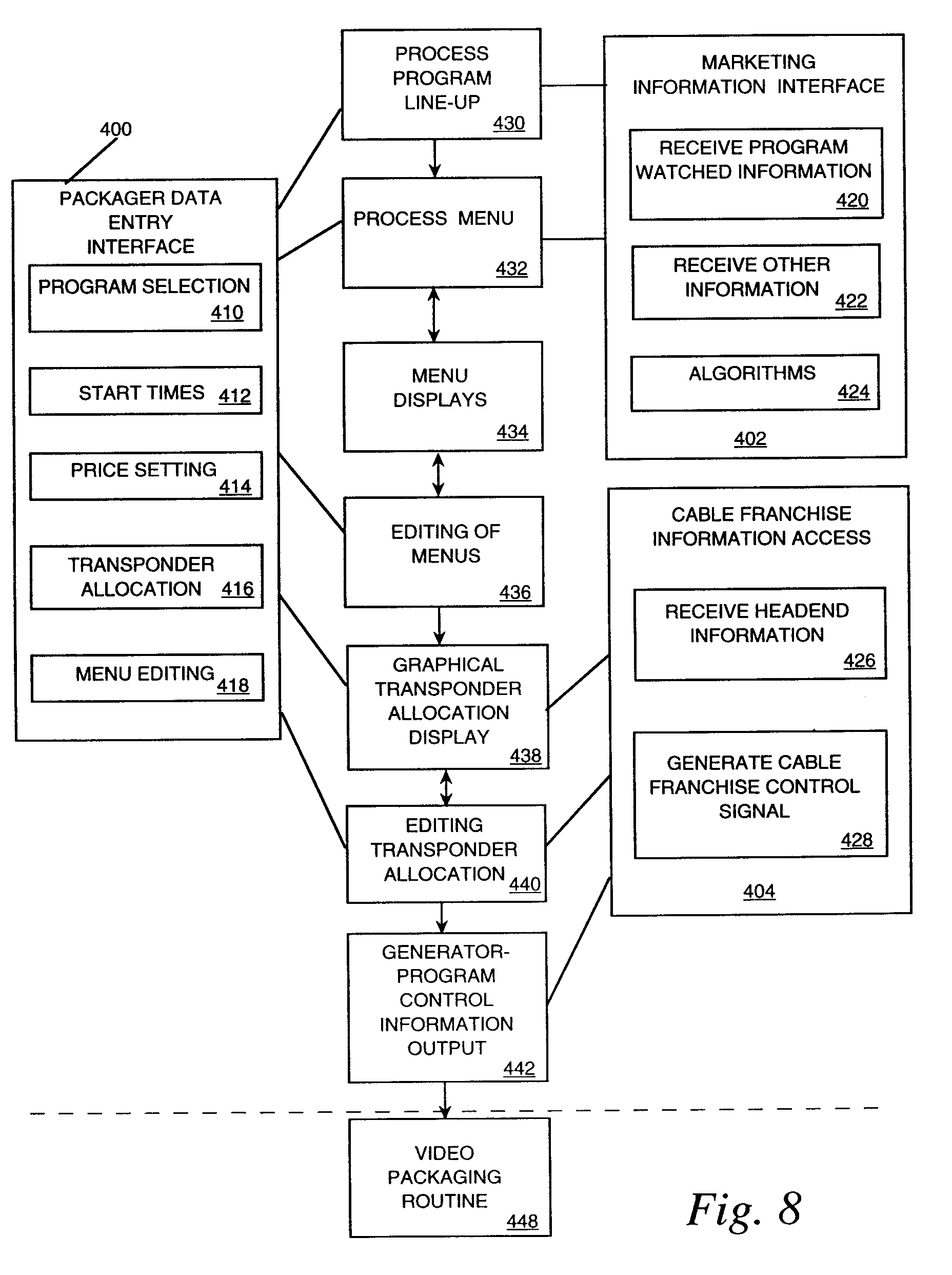 EP0862328A1 - An operations center to be used in television program