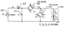 Us6771056b1 Ac Controller With Reverse Blocking Igbt Google Patents