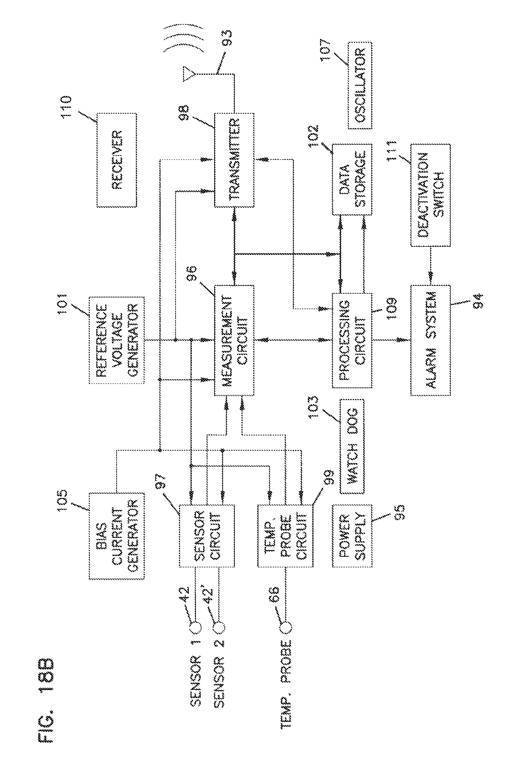 Us9014773b2 Analyte Monitoring Device And Methods Of Use Google Far West Cathodic Rectifier Wiring Diagram Patents