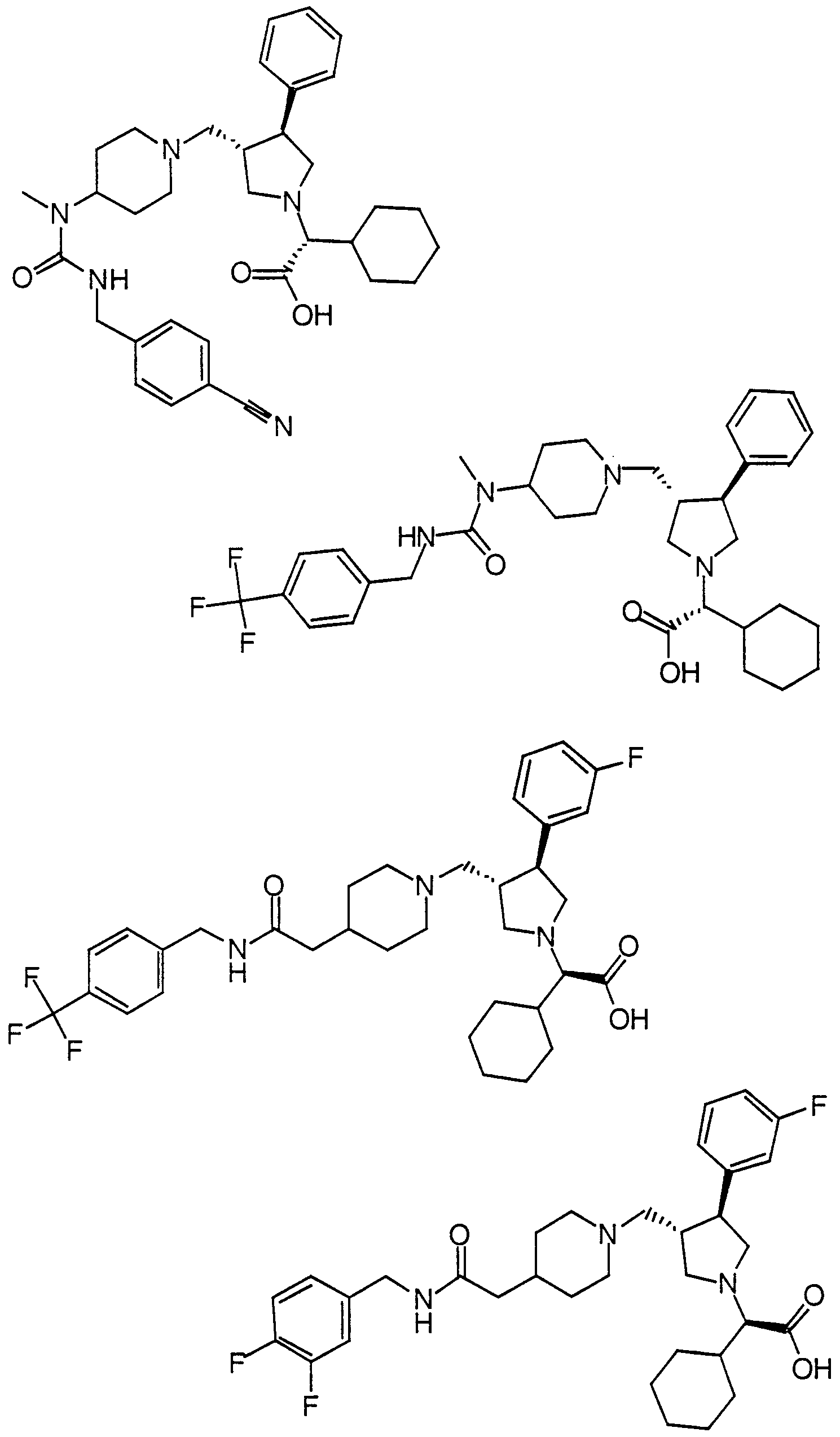 wo2000059497a1 pyrrolidine modulators of chemokine receptor Electrical Product Items figure imgf000038 0001