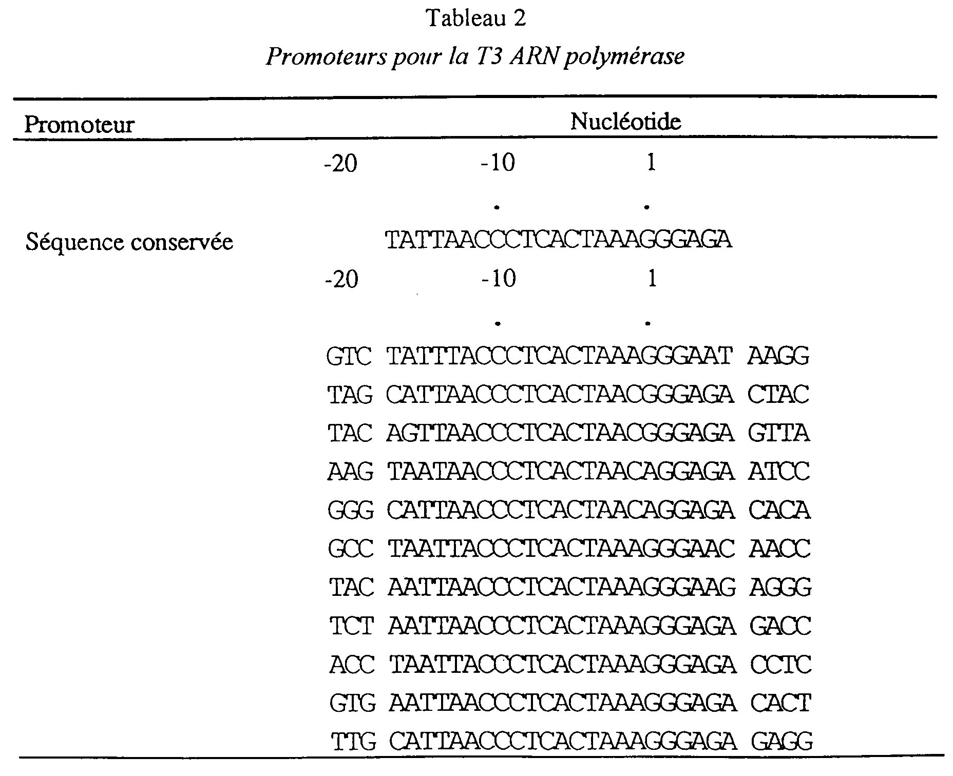 EP A1 Modified promoter for RNA polymerase its preparation