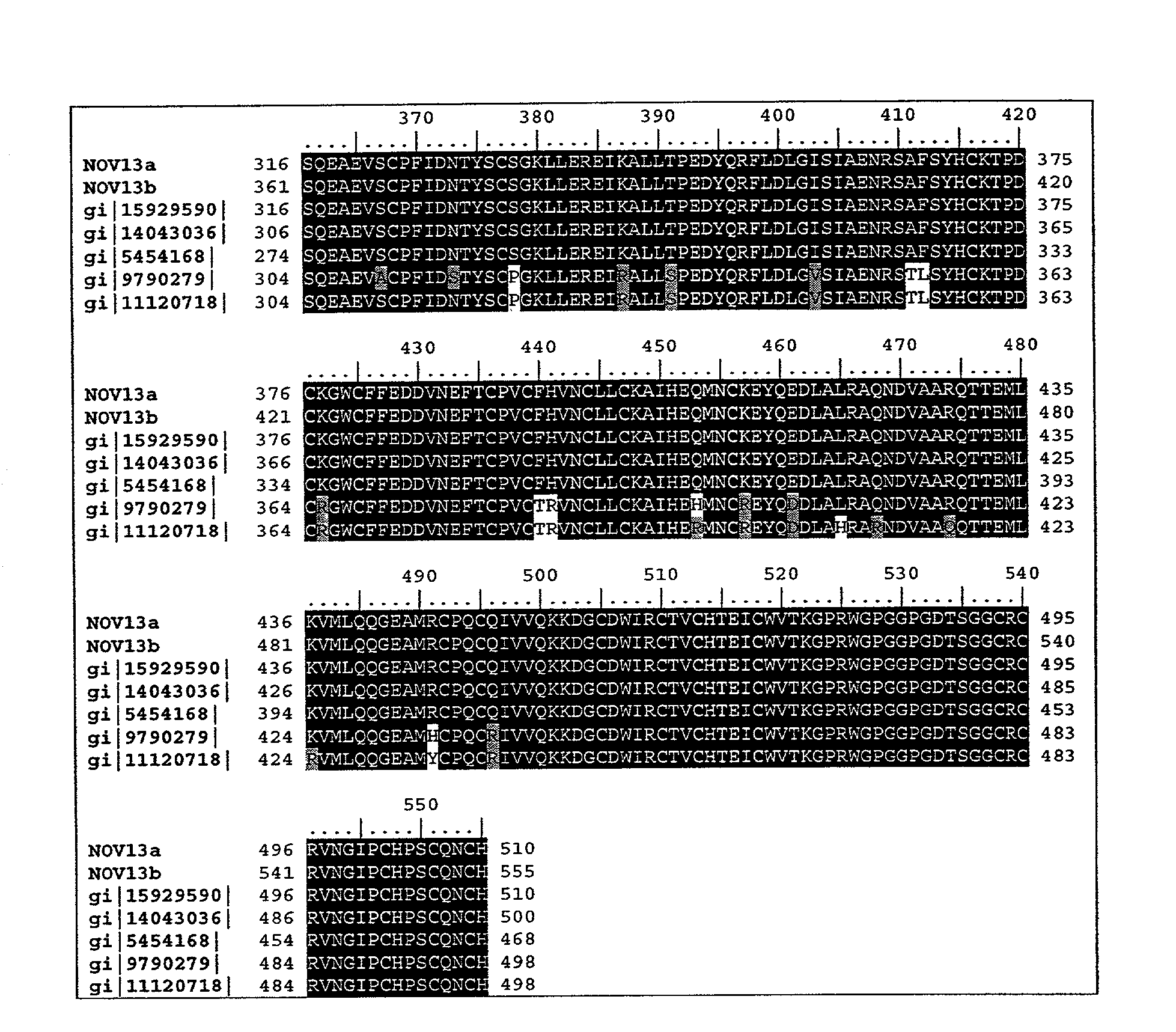 US20040010119A1 - Novel proteins and nucleic acids encoding same