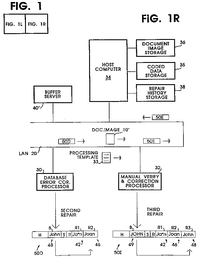 EPA Data Processing System And Method For Selecting - Document processing system