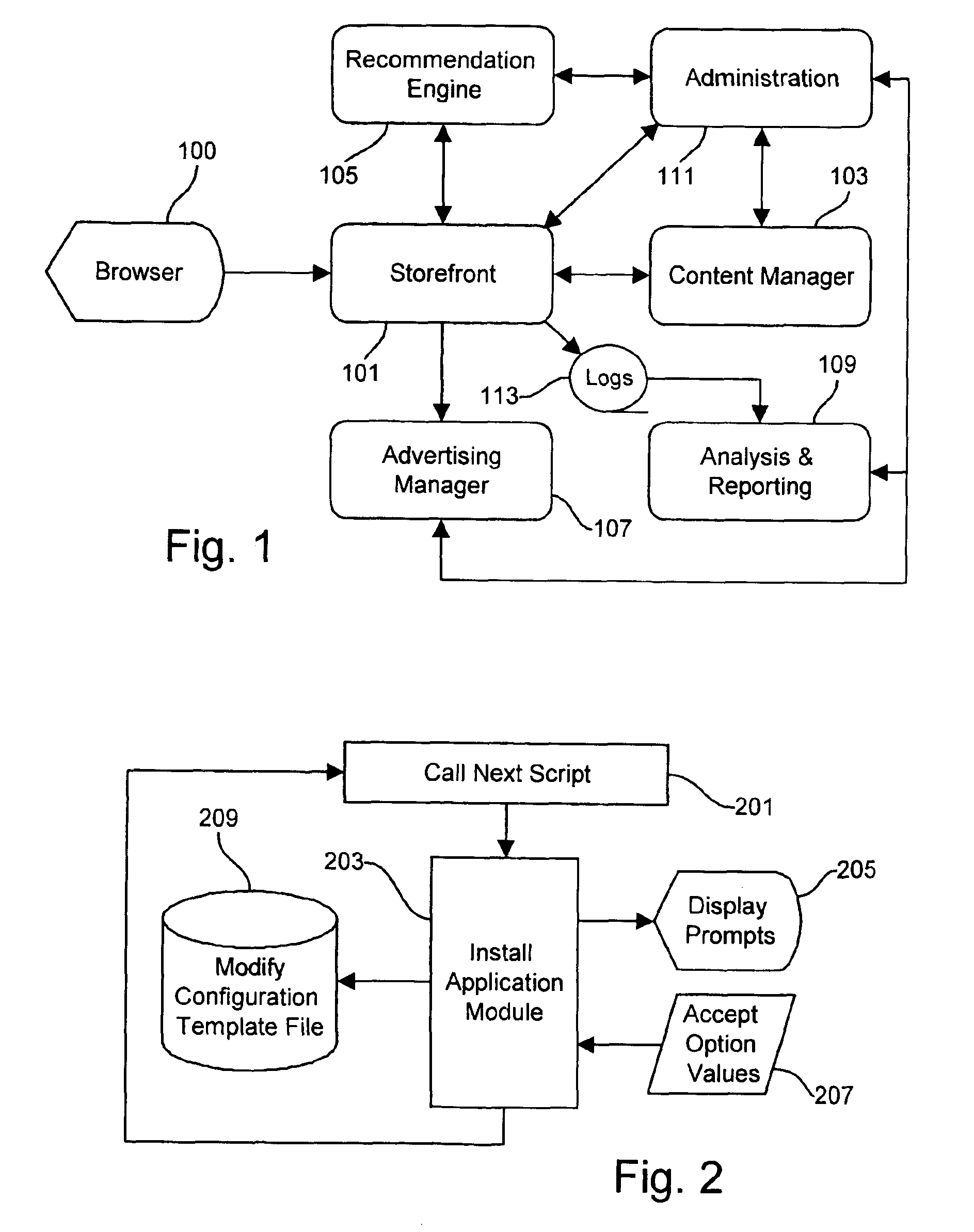 US7069271B1 - Methods and apparatus for implementing internet