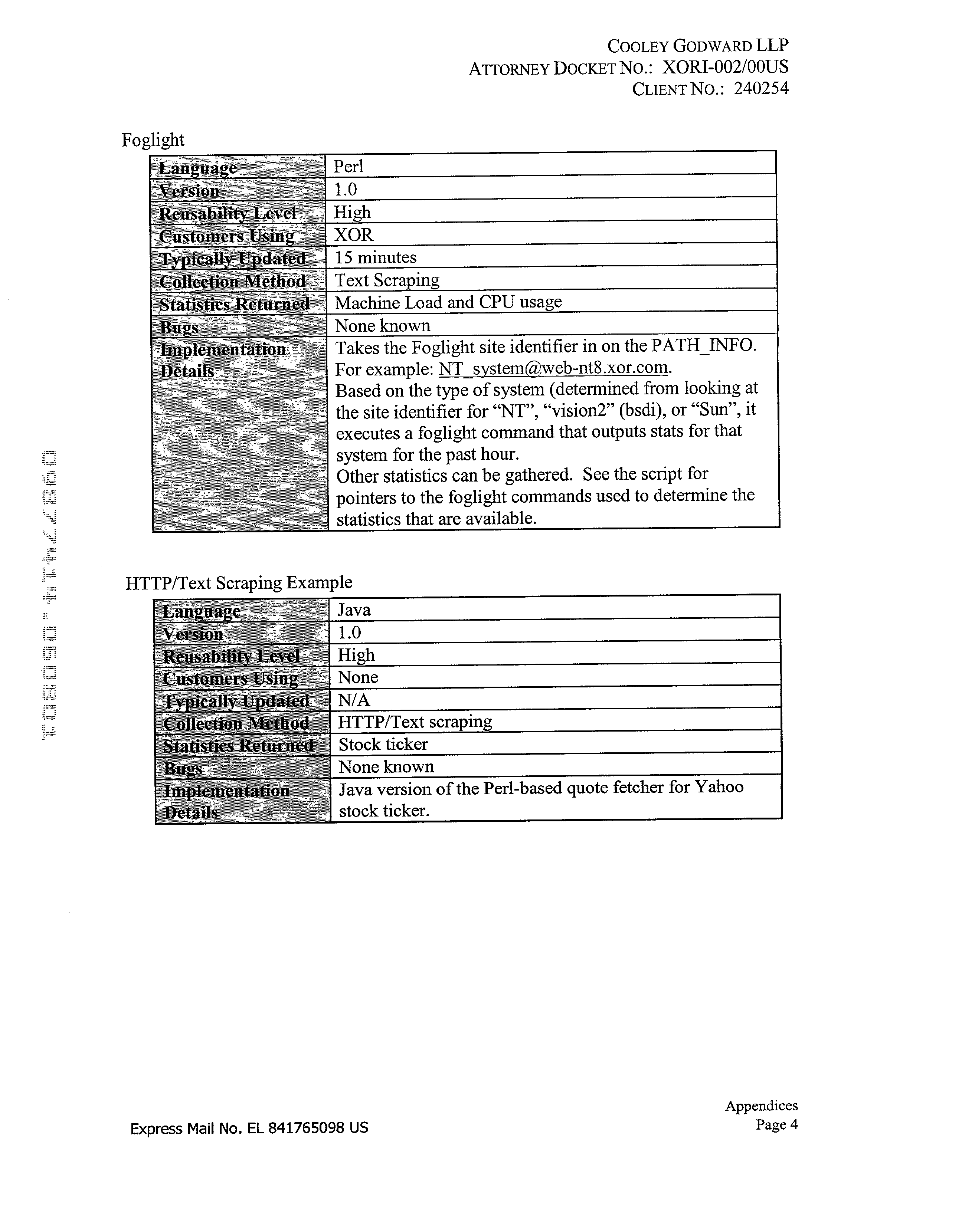 Figure US20030110249A1-20030612-P00004