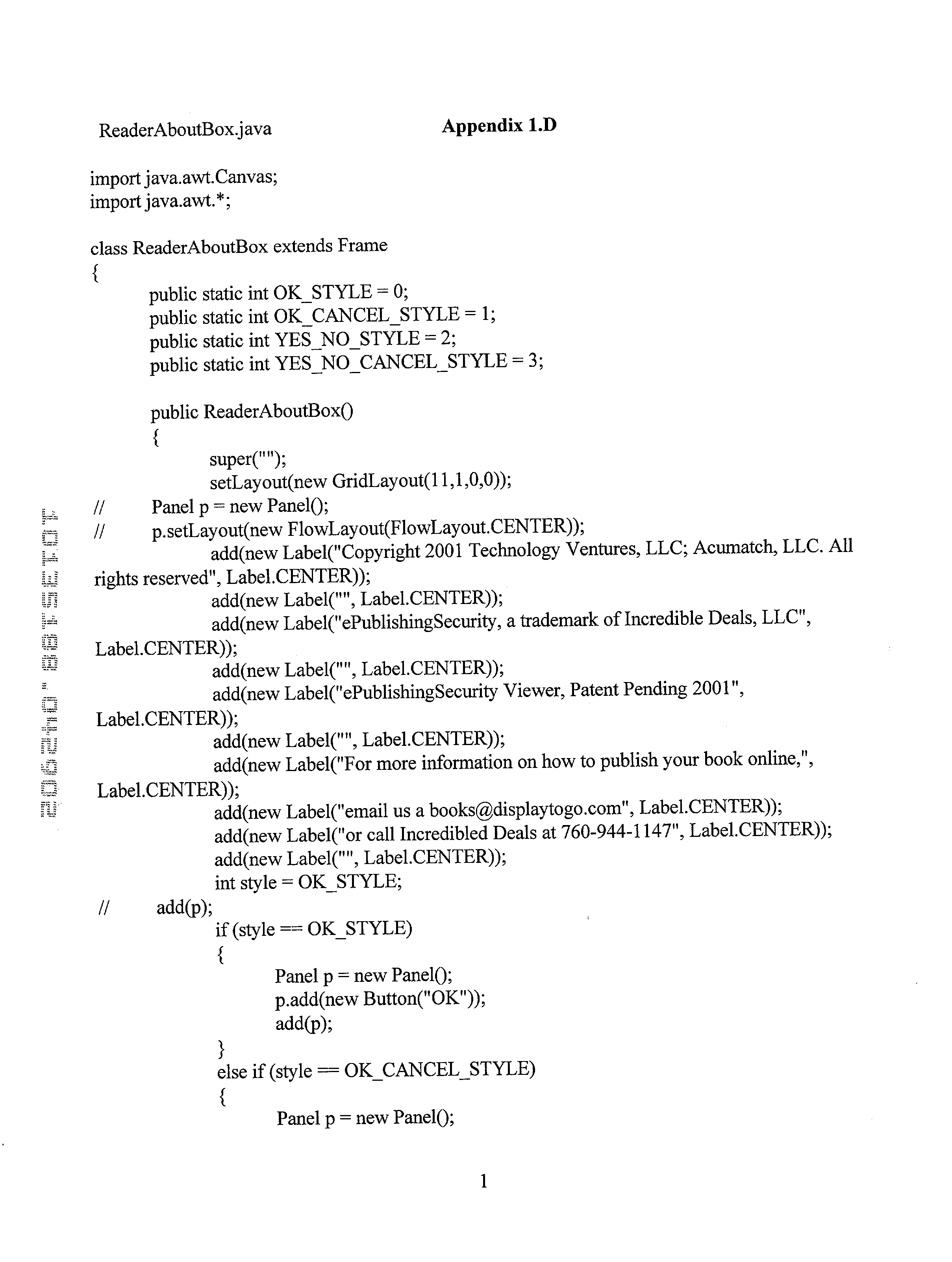 Figure US20030037253A1-20030220-P00003